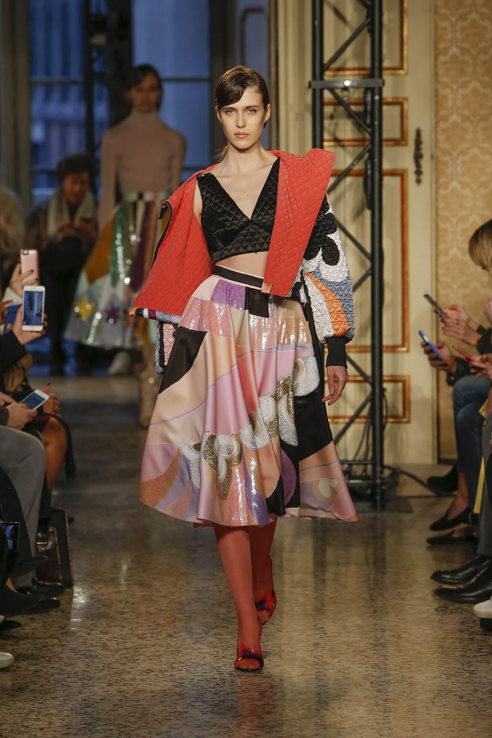 Fashion 2018-2019 Woman Style Emilio Pucci