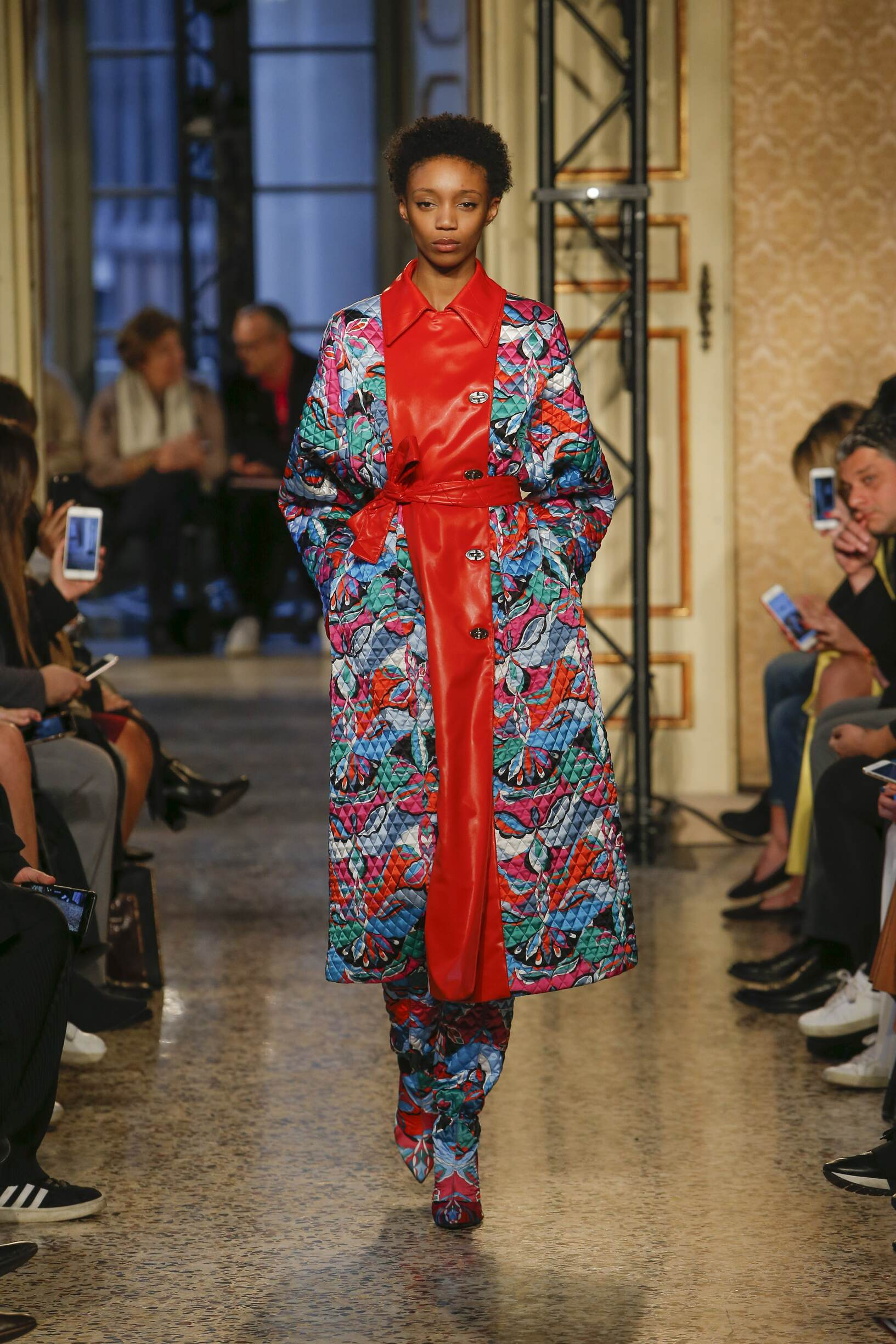Fashion Model Emilio Pucci Catwalk