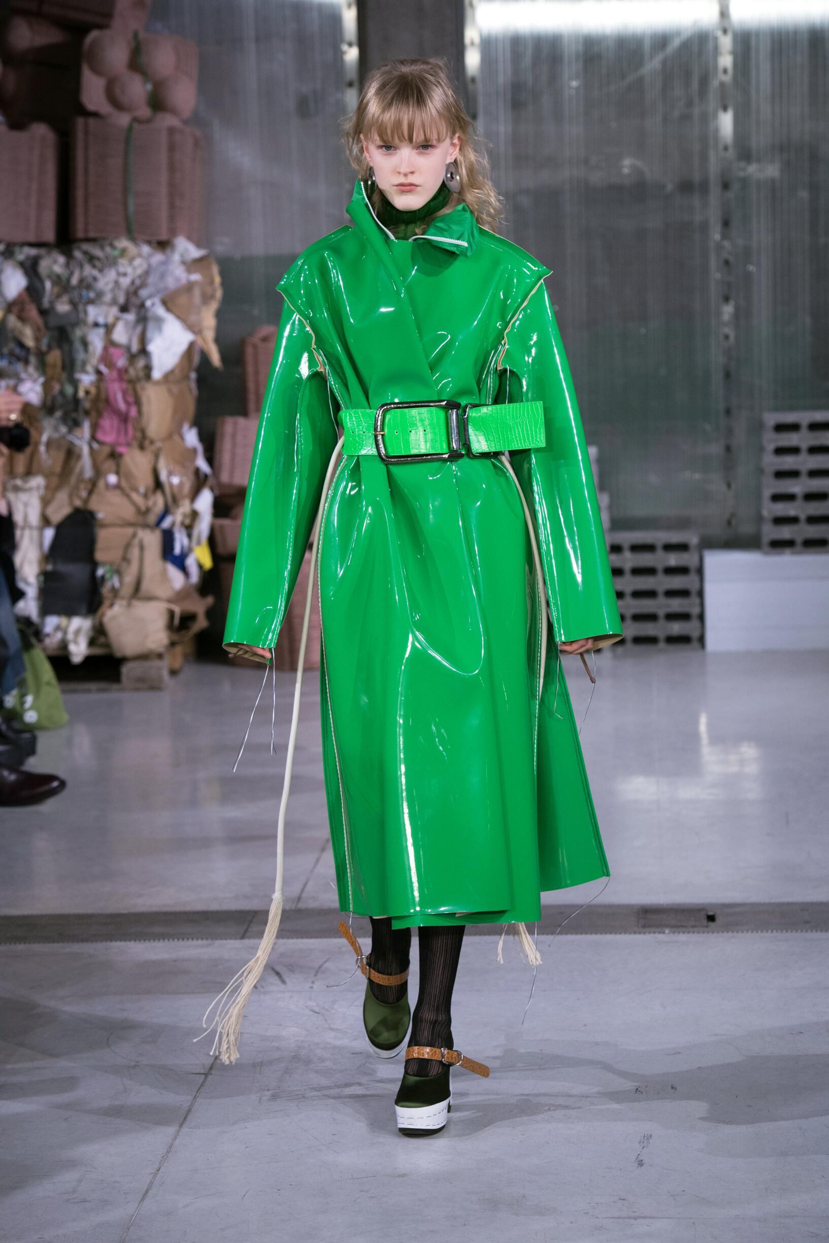 Fashion Model Marni Catwalk