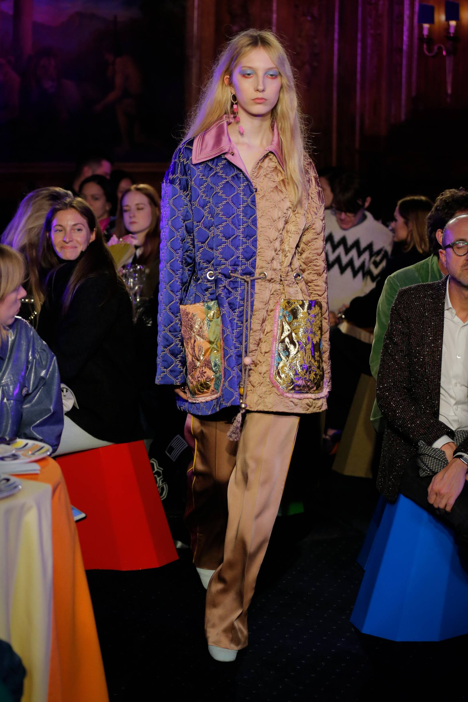 Fashion Model Peter Pilotto Catwalk