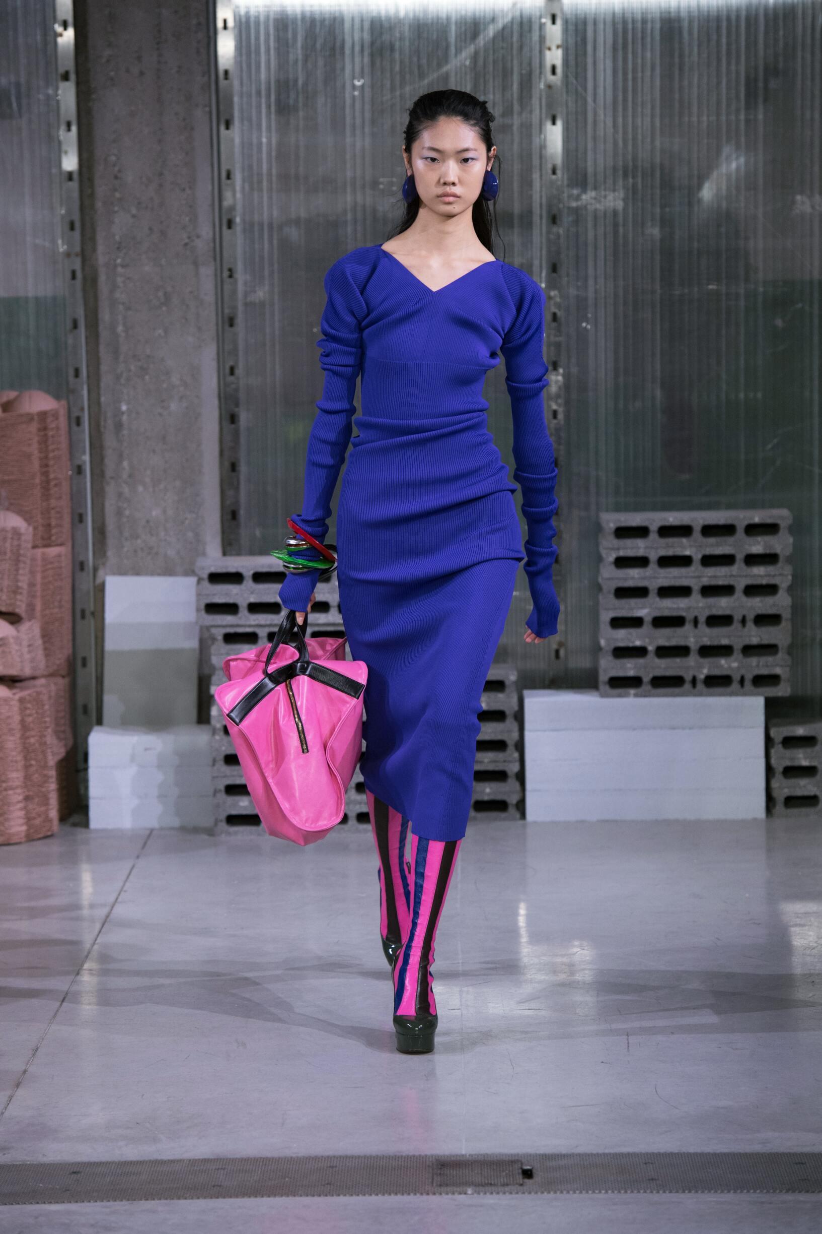 Fashion Woman Model Marni Catwalk
