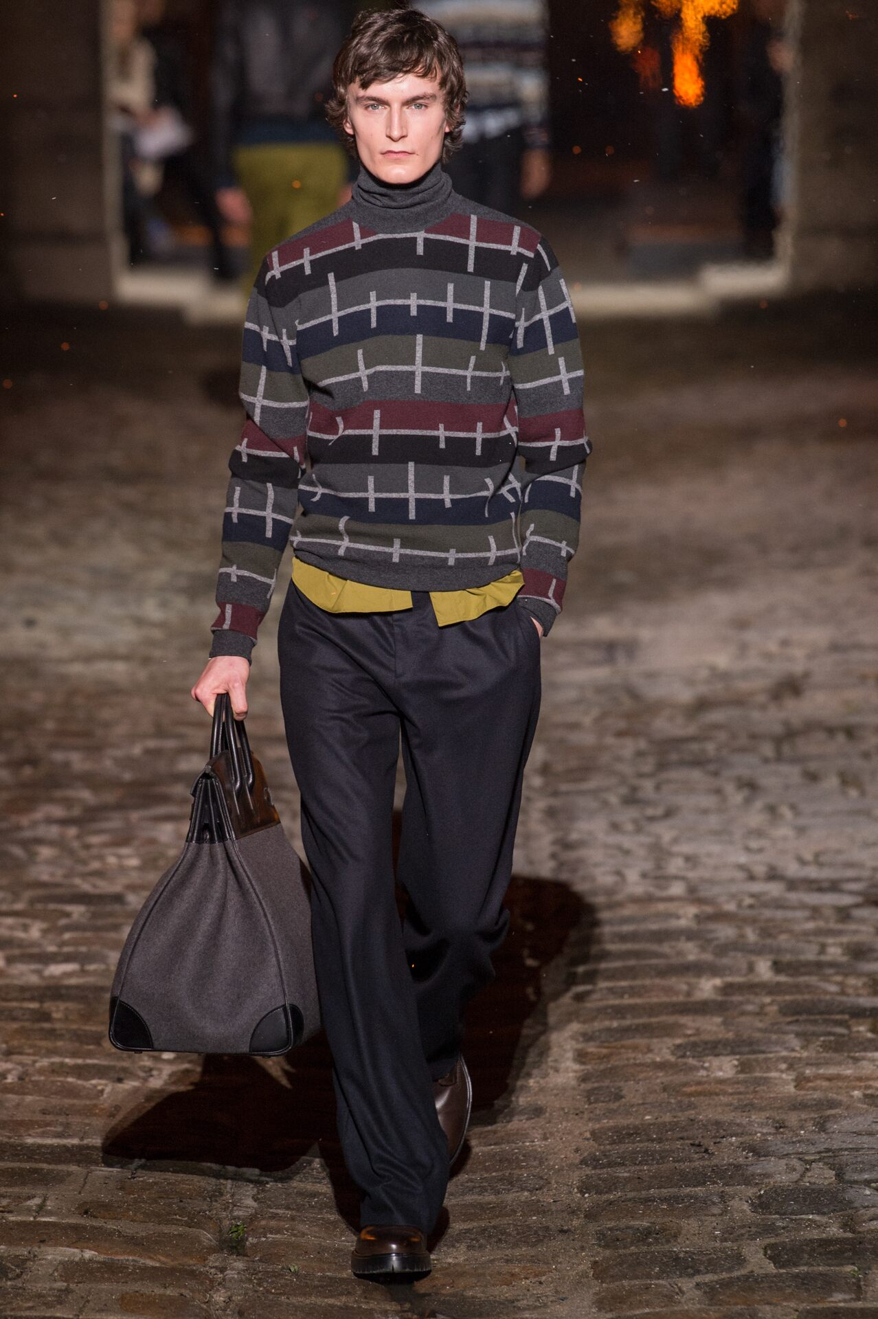 Hermès Winter 2018 Man Catwalk