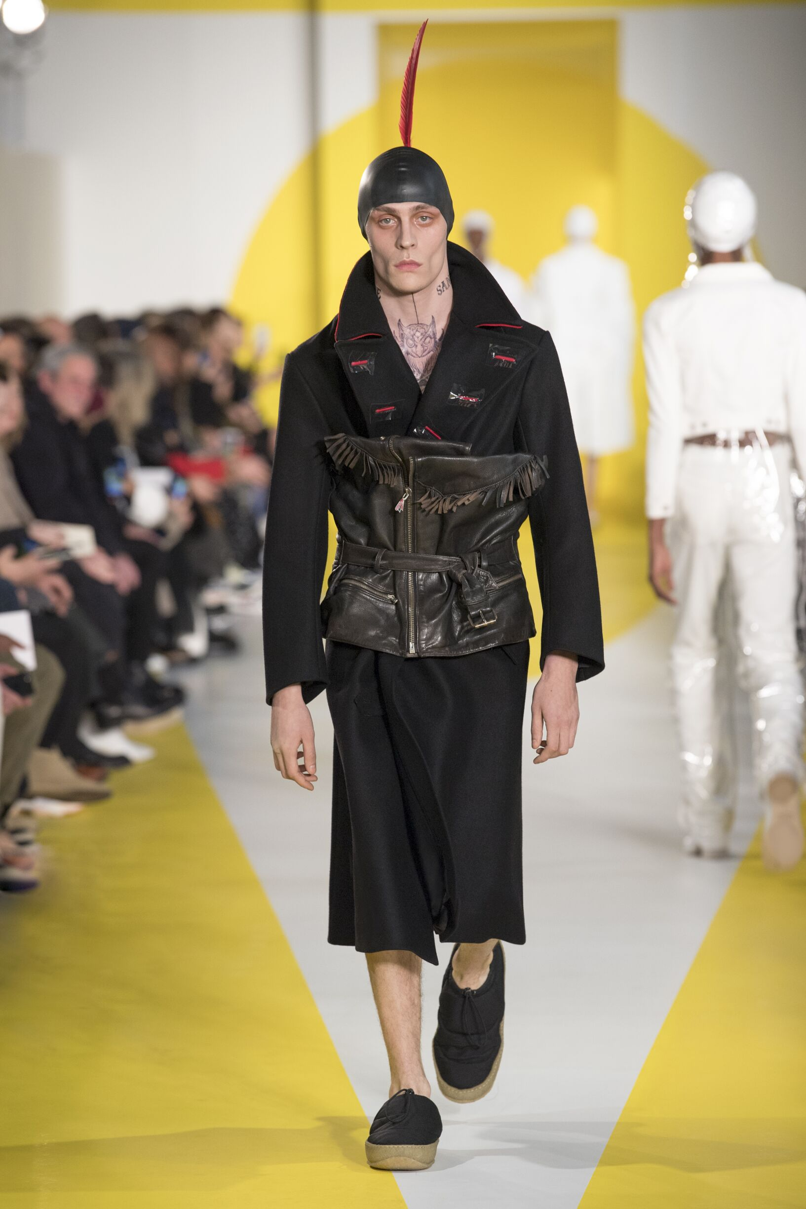 Maison Margiela Winter 2018 Man Catwalk