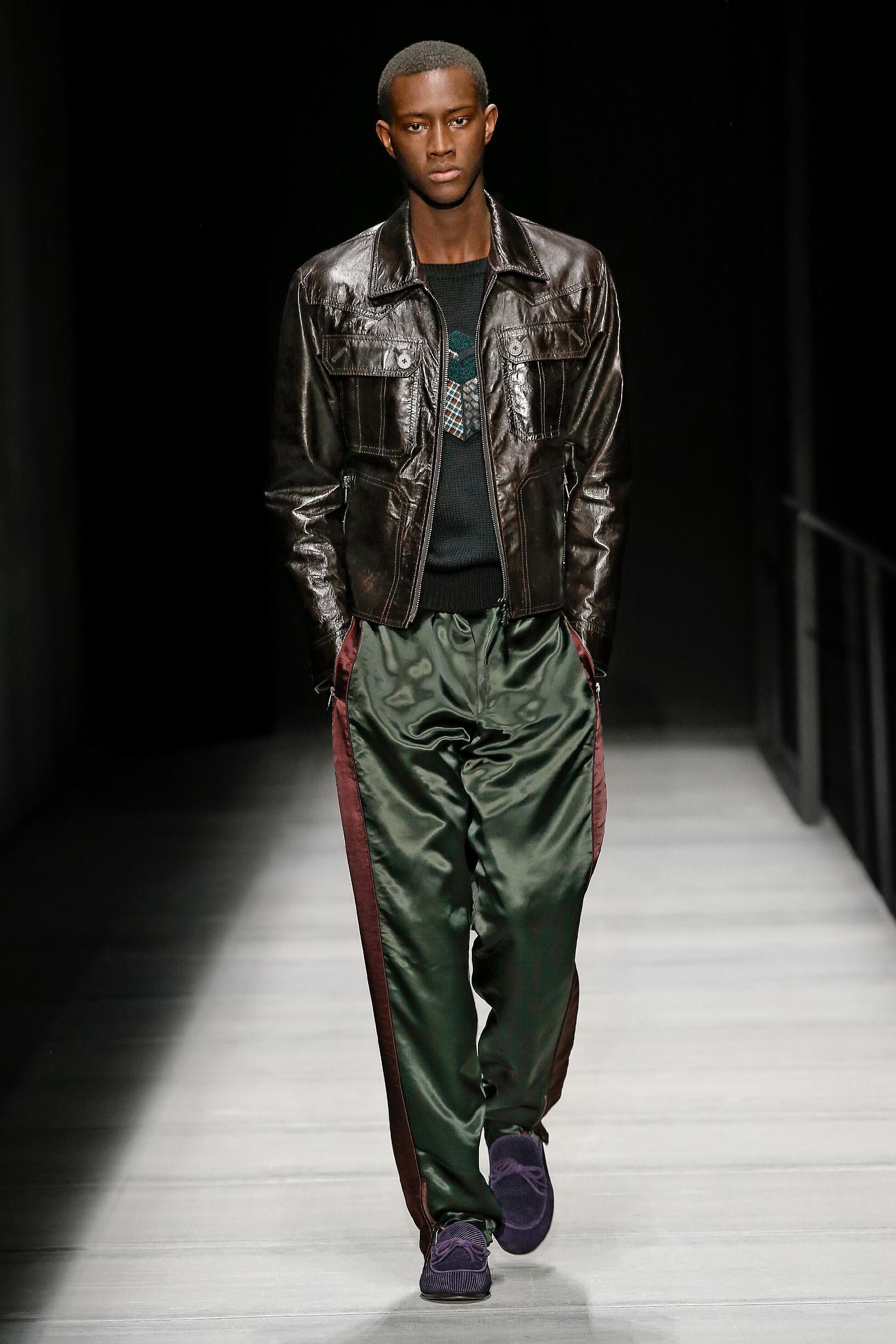 Man FW 2018-19 Bottega Veneta Fashion Show New York