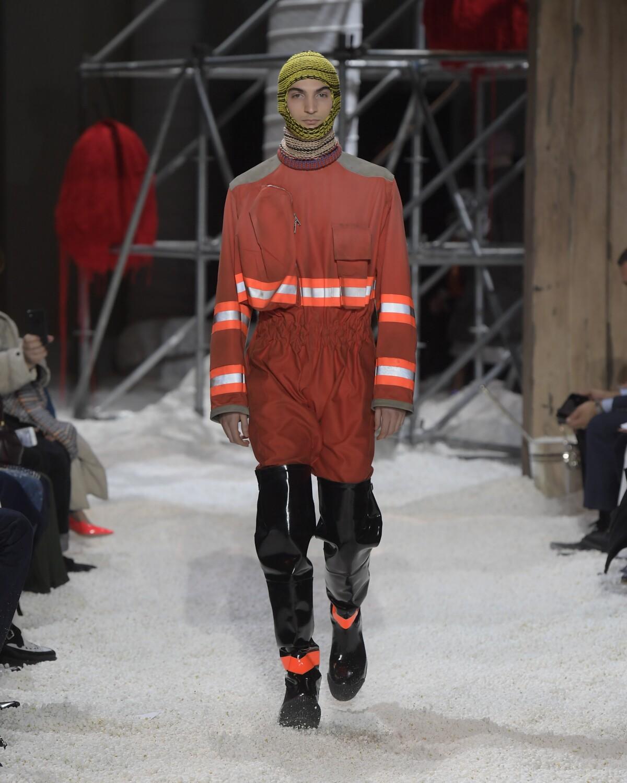 Man FW 2018-19 Calvin Klein 205W39NYC Fashion Show New York