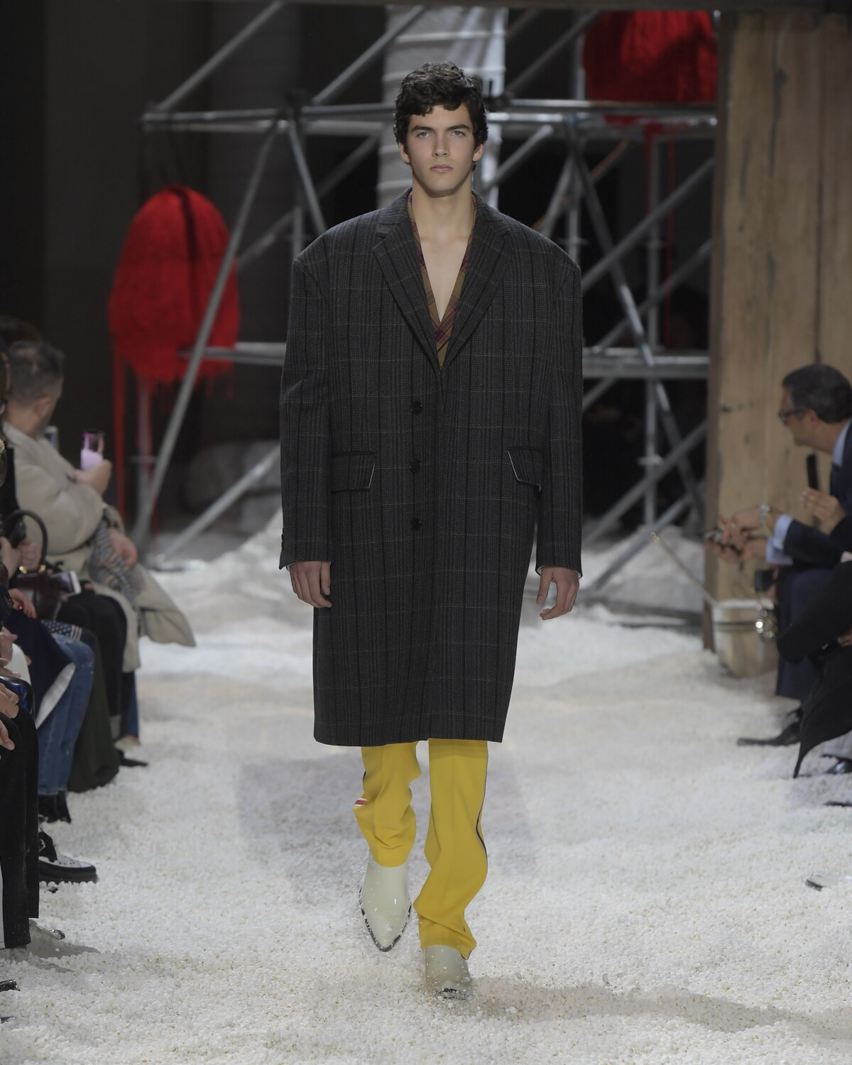 Man FW 2018-19 Fashion Show Calvin Klein 205W39NYC