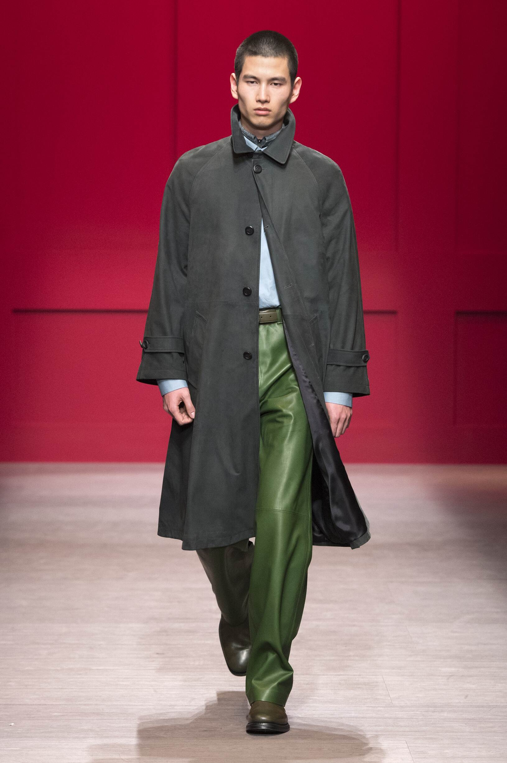 Man FW 2018-19 Fashion Show Salvatore Ferragamo