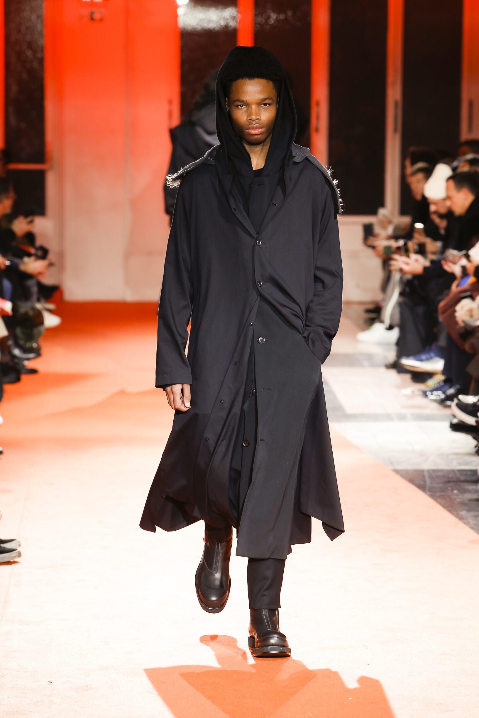 Man FW 2018-19 Fashion Show Yohji Yamamoto