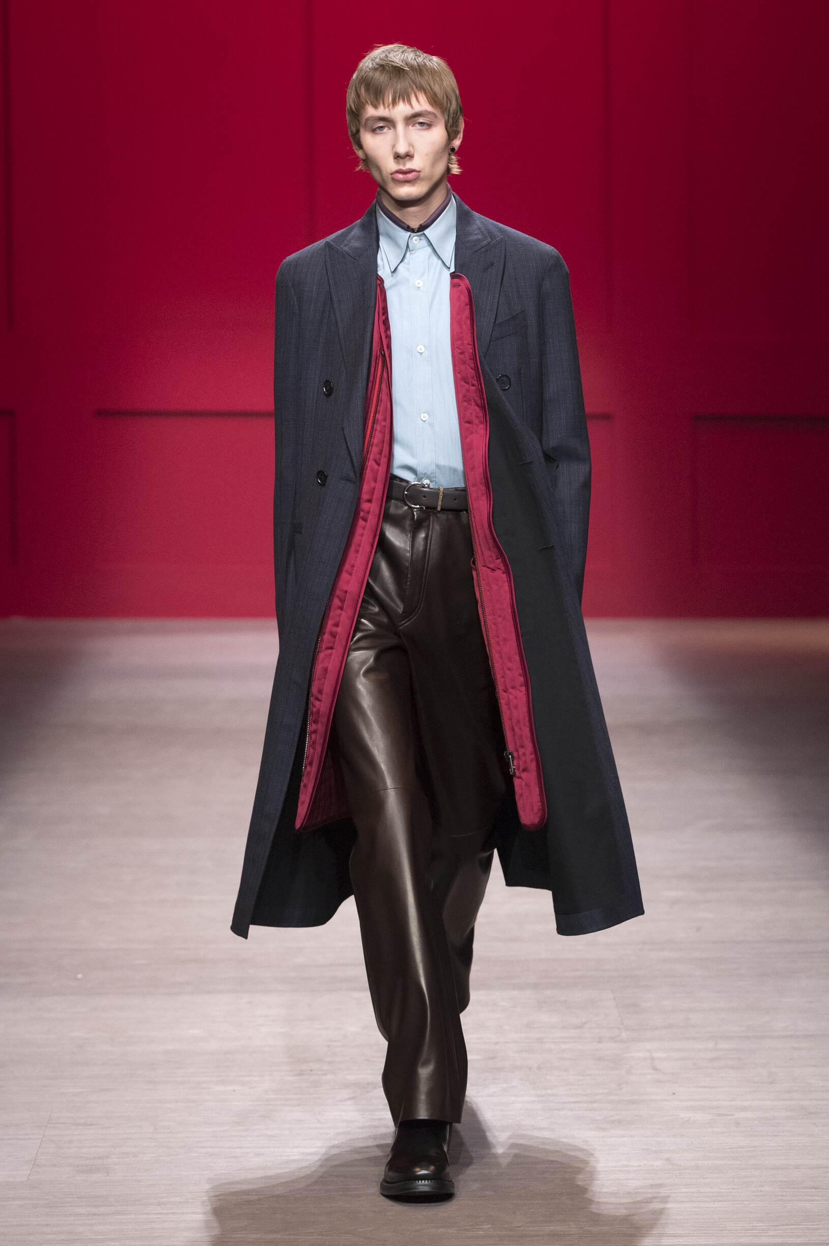 Man FW 2018-19 Salvatore Ferragamo Fashion Show Milan