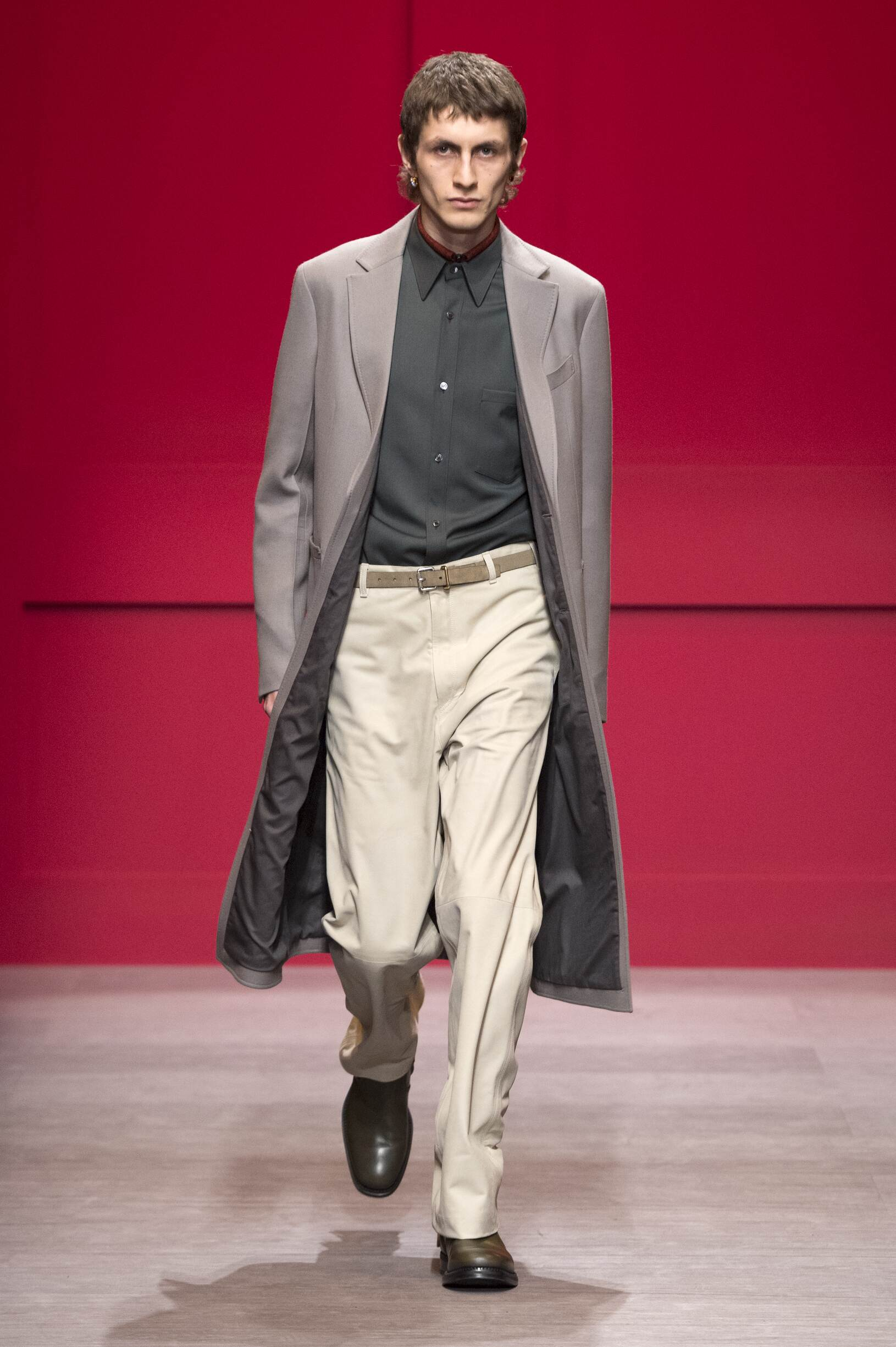 Man FW 2018-19 Salvatore Ferragamo Fashion Show