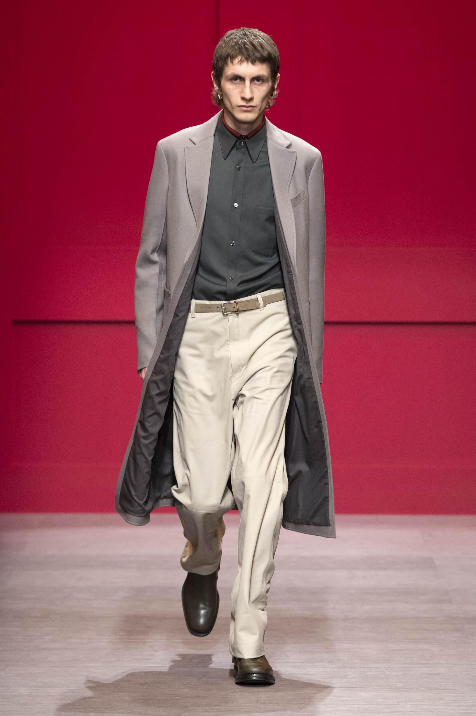 Man FW 2018-19 Salvatore Ferragamo Fashion Show