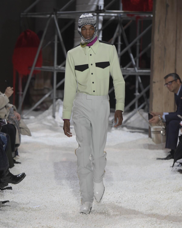 Man FW 2018 Calvin Klein 205W39NYC
