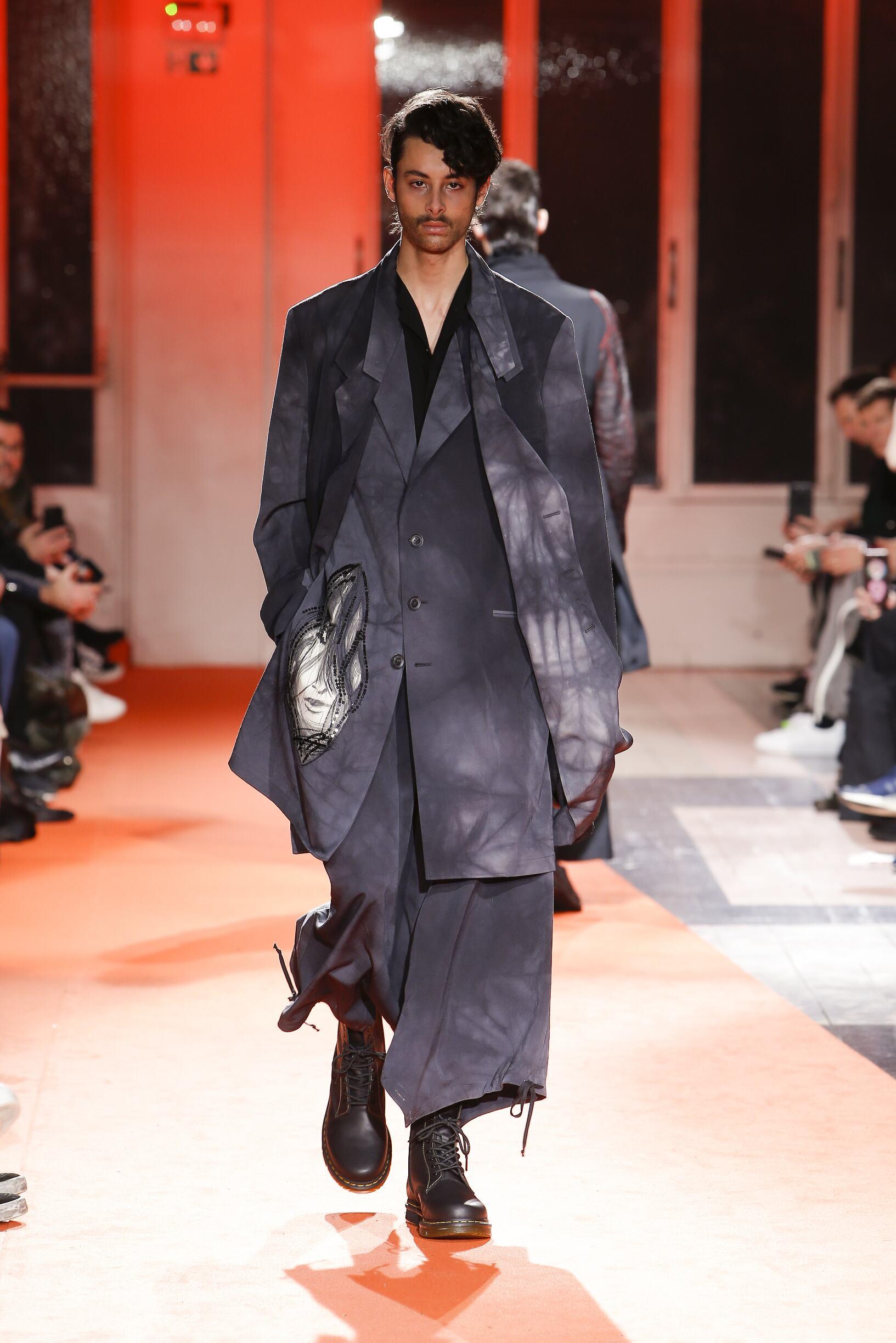 Man Fall 2018 Fashion Trends Yohji Yamamoto