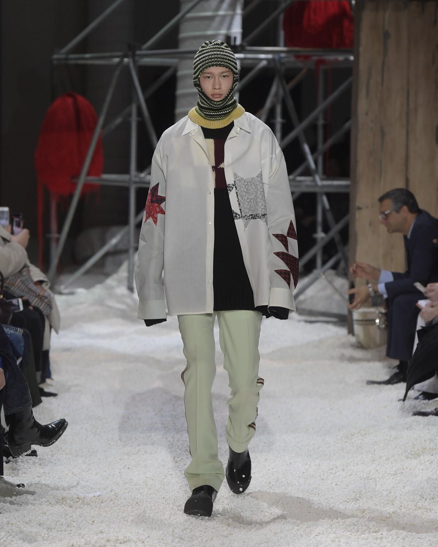 Man Fall Fashion 2018-19 Calvin Klein 205W39NYC