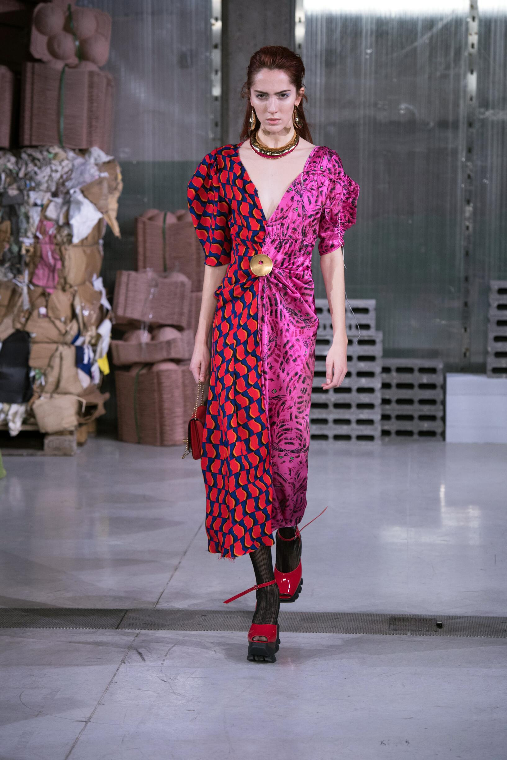 Marni Winter 2018 Woman Catwalk