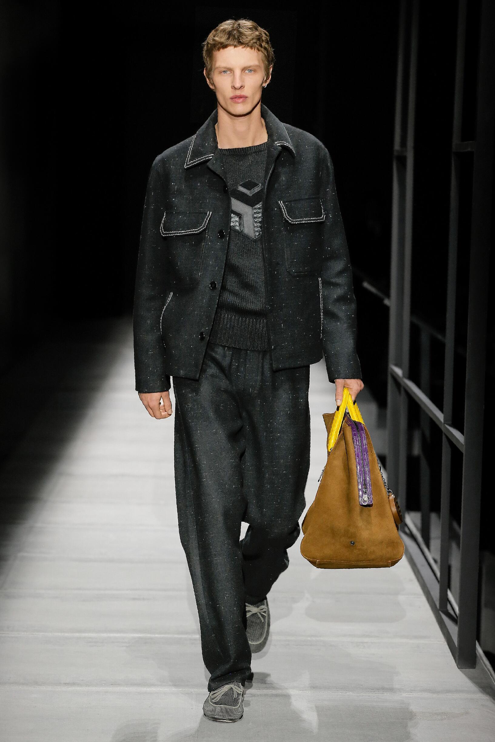 Menswear FW Bottega Veneta 2018-19