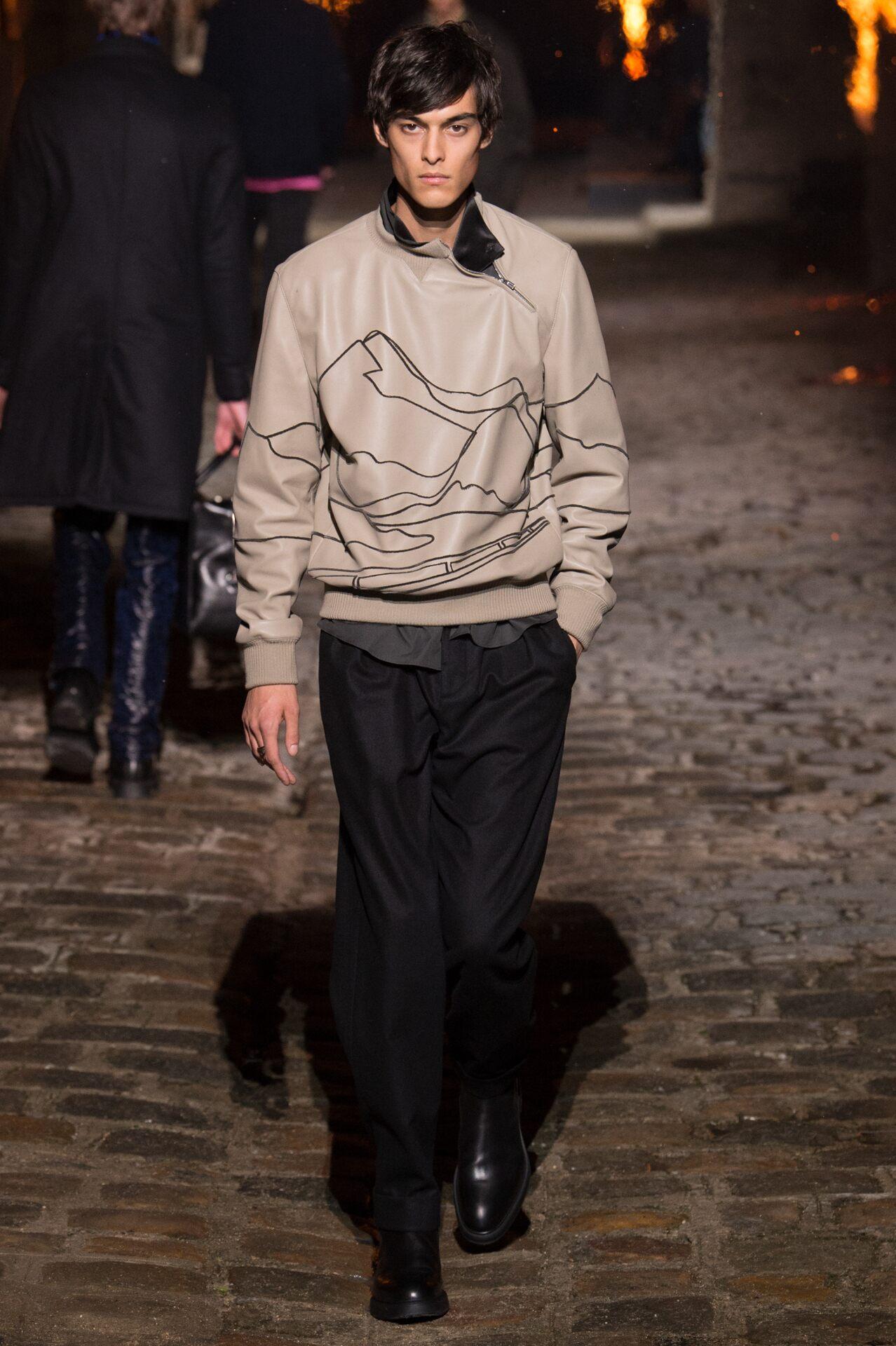 Menswear FW Hermès 2018-19