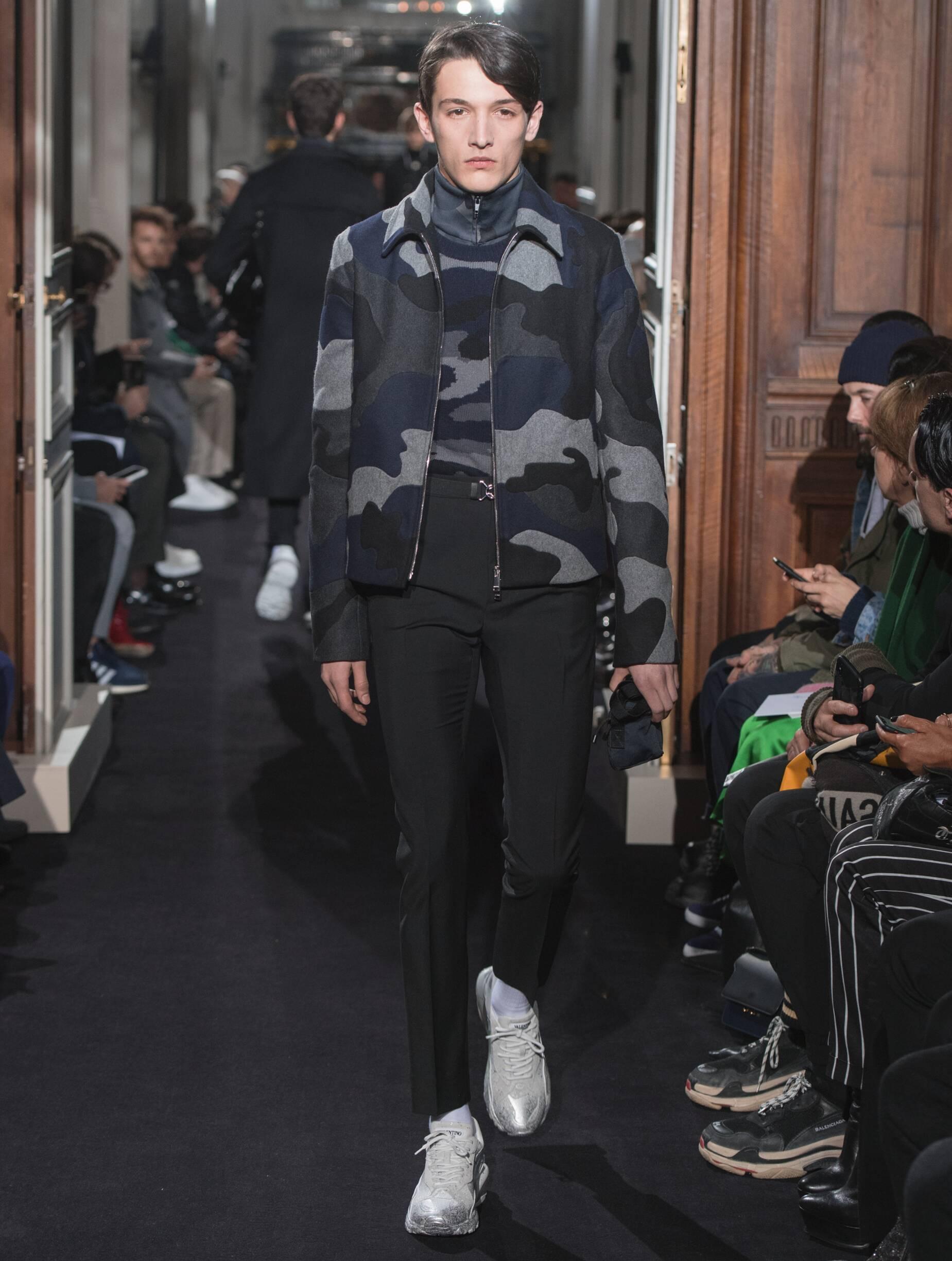 Menswear FW Valentino 2018-19