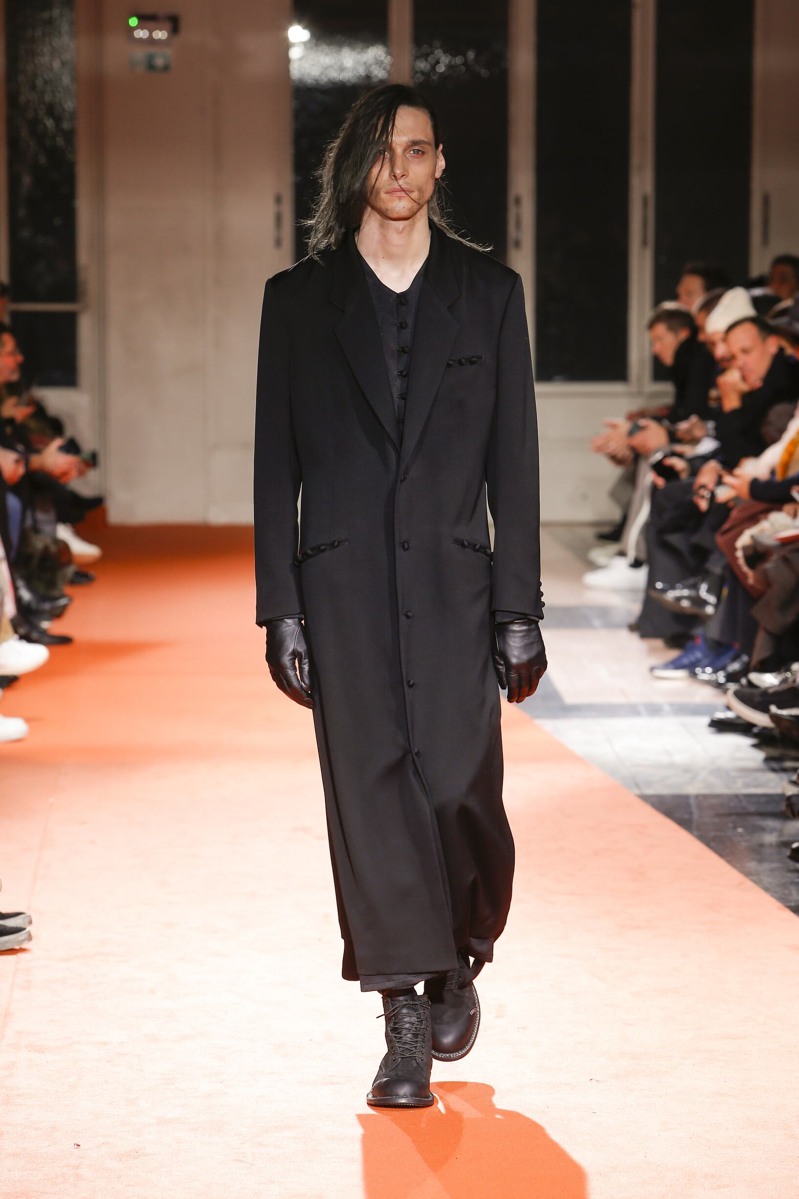 Menswear FW Yohji Yamamoto 2018