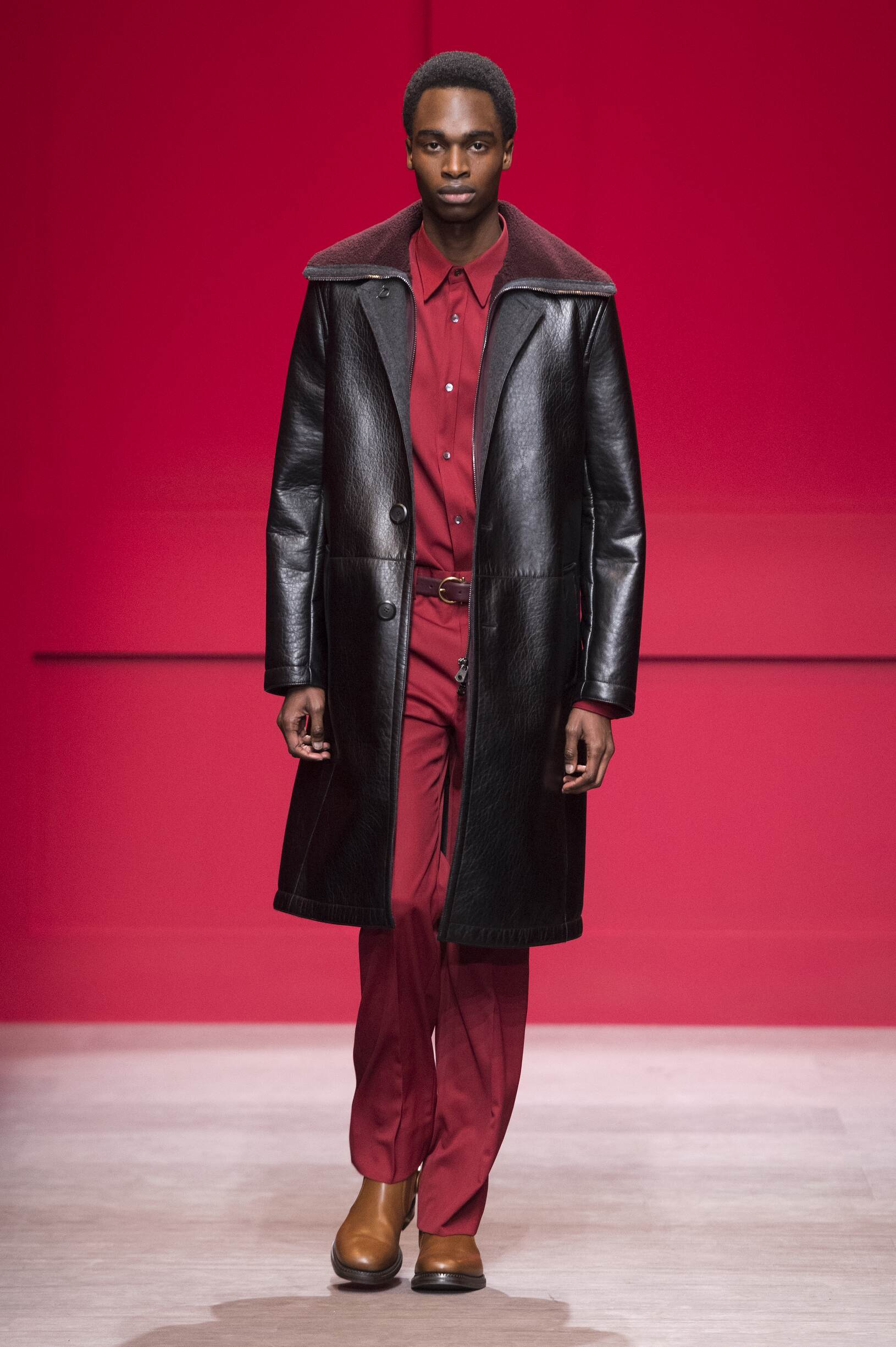 Menswear Runway Fashion Show Salvatore Ferragamo