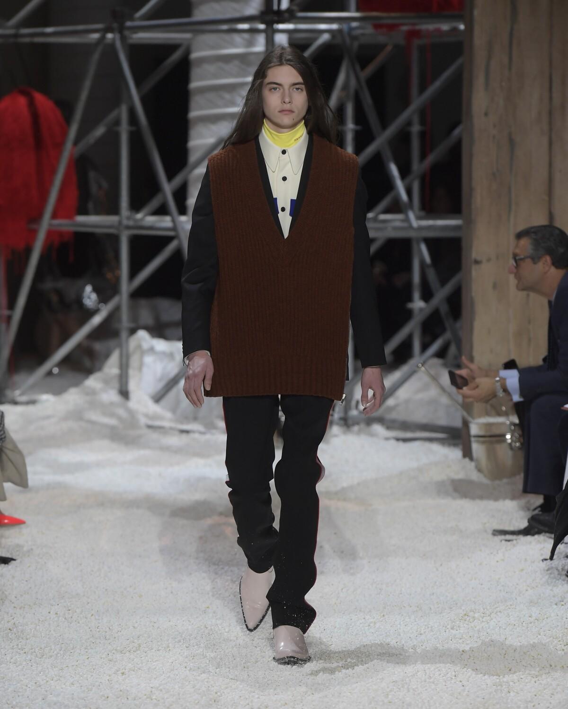 Menswear Winter 2018 Fashion Trends Calvin Klein 205W39NYC