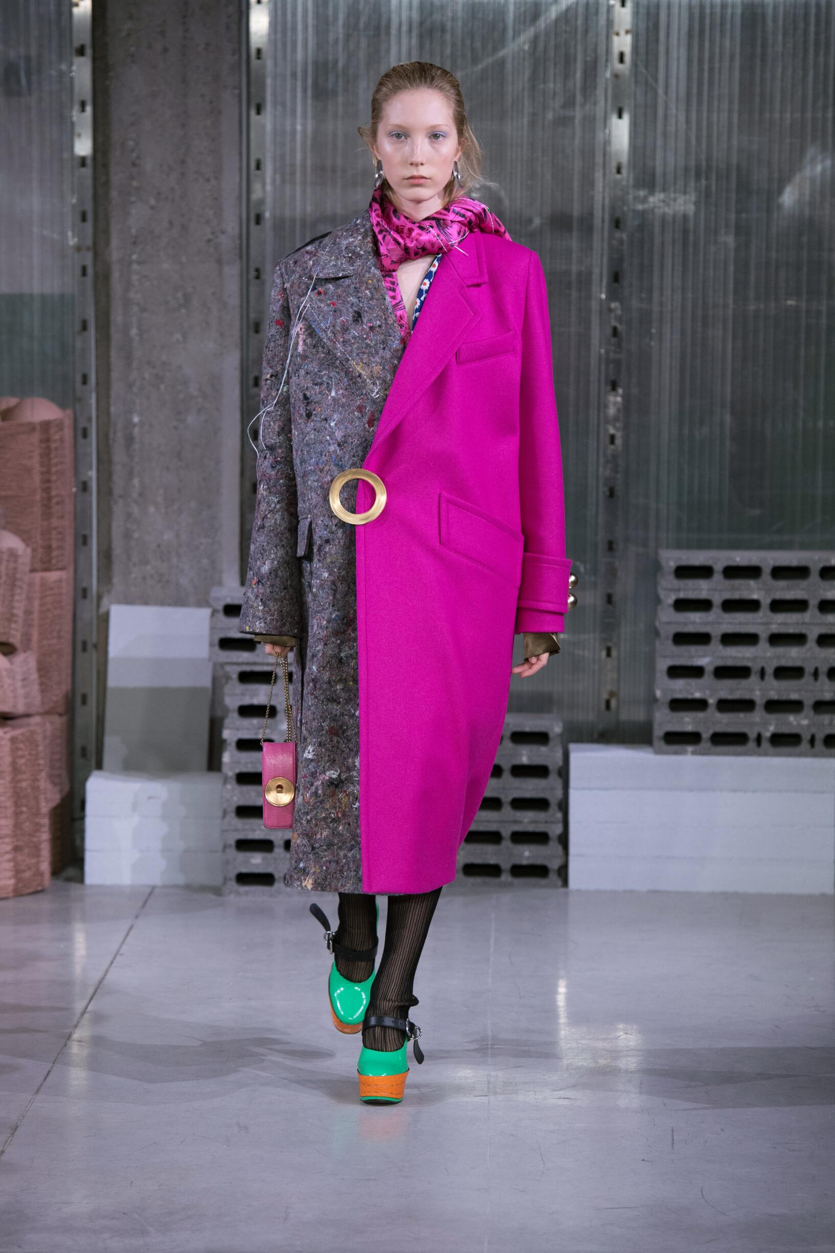 Model Catwalk Marni