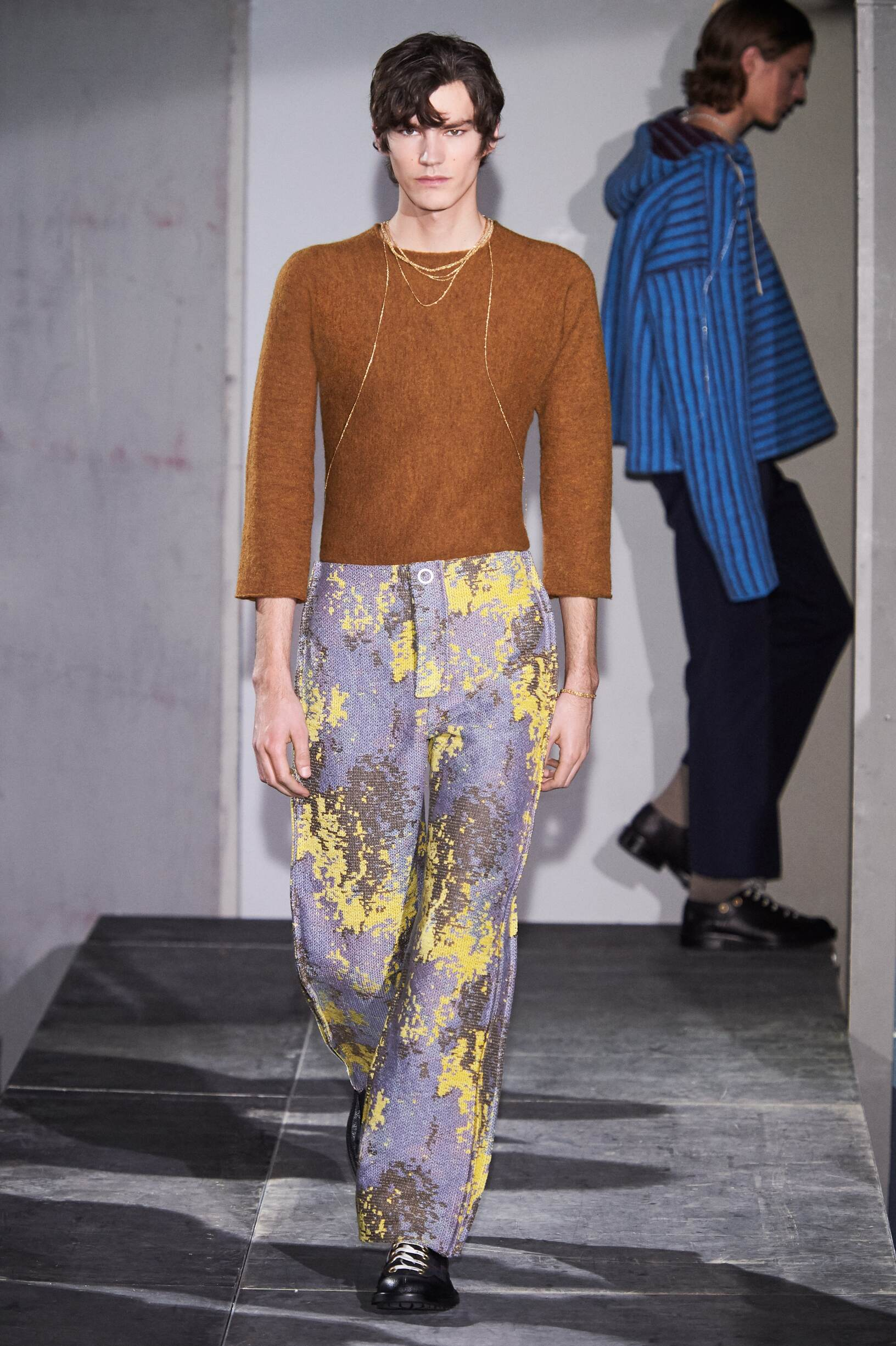 Model Fashion Show Acne Studios