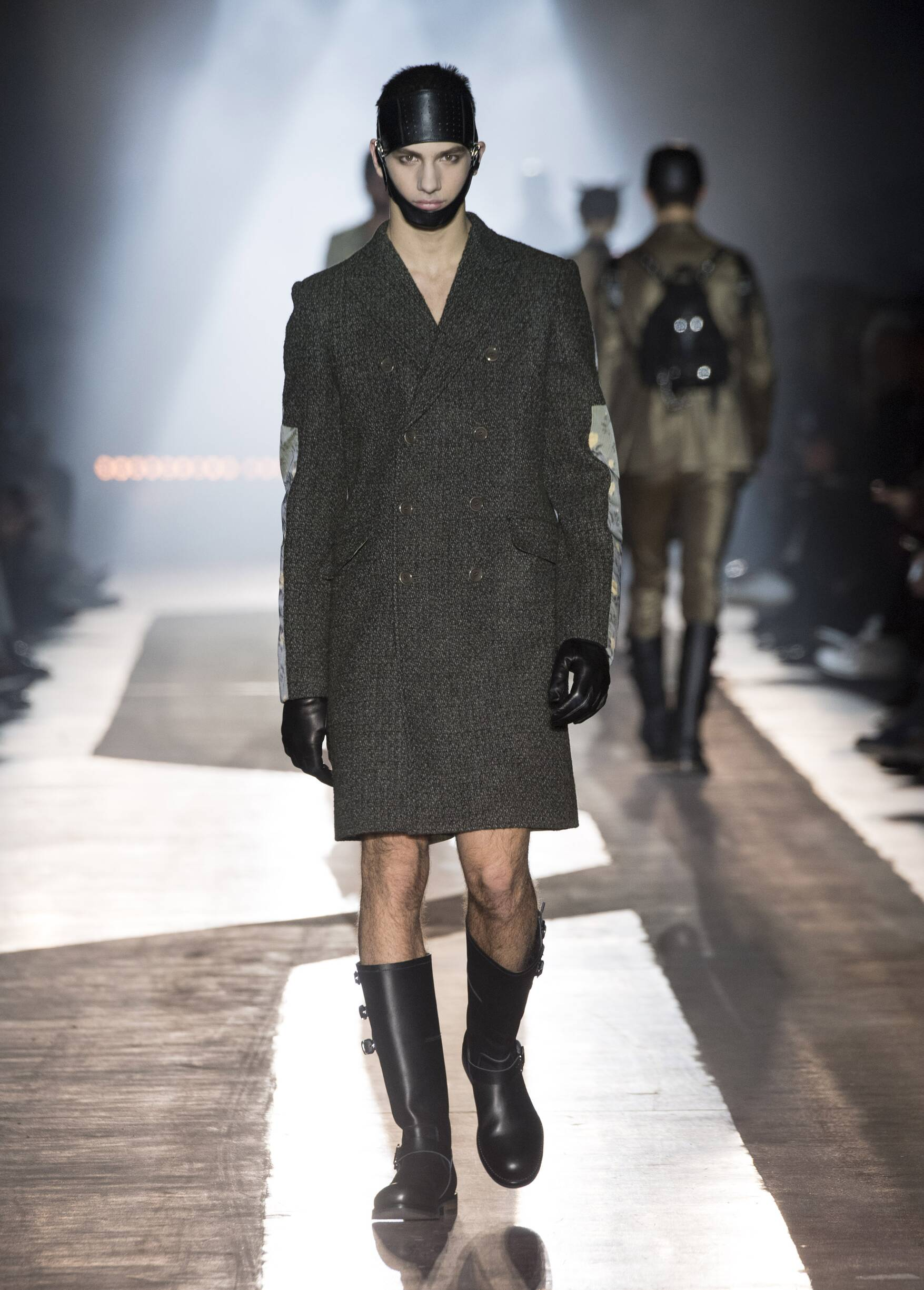 Moschino Fall 2018 Man Catwalk