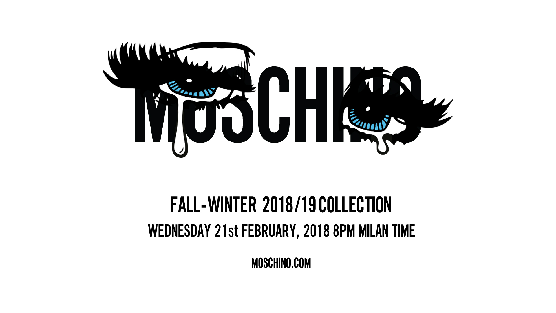 Moschino Fall Winter 2018-19 Fashion Show Live Streaming