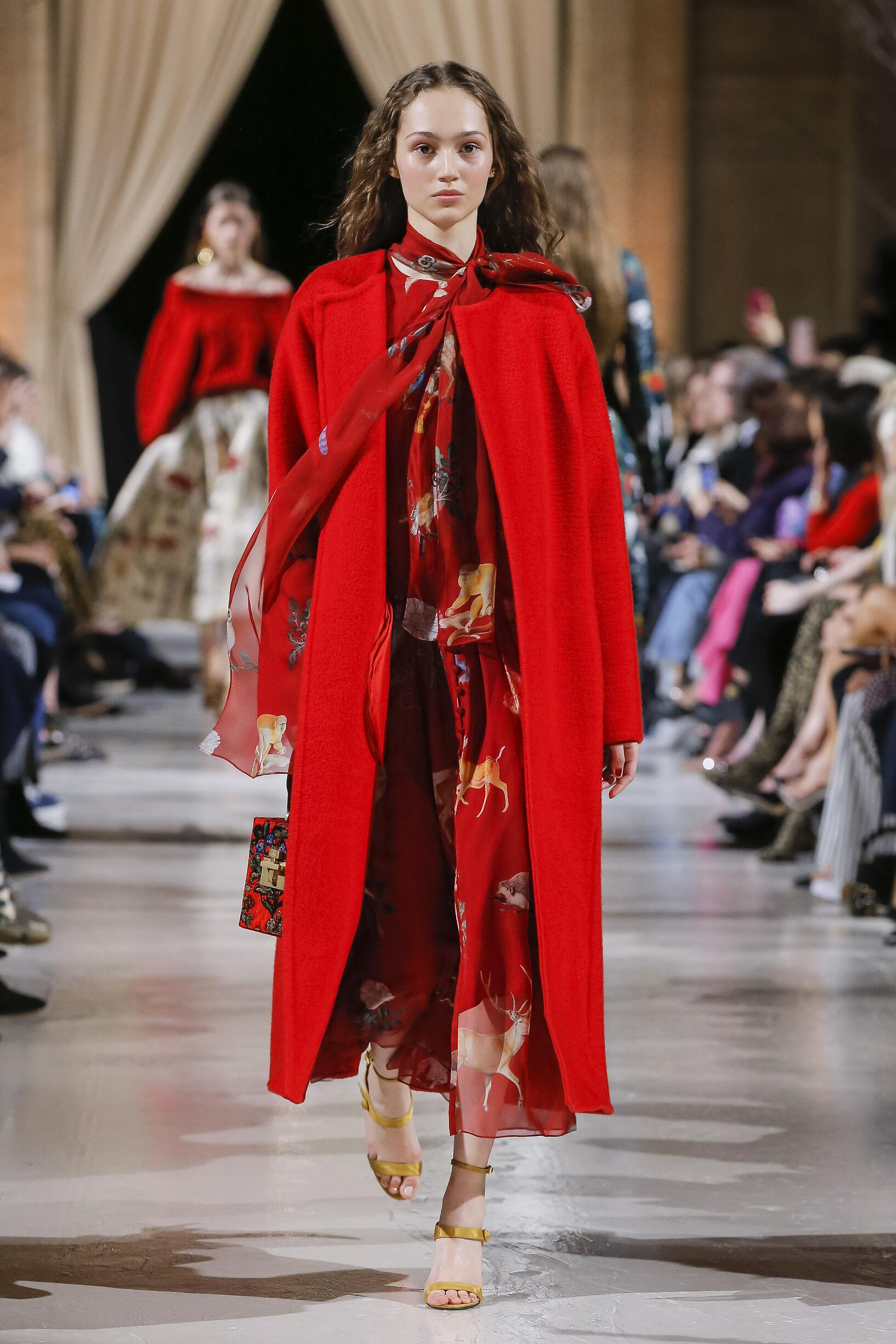 Oscar de la Renta Fall Winter 2018