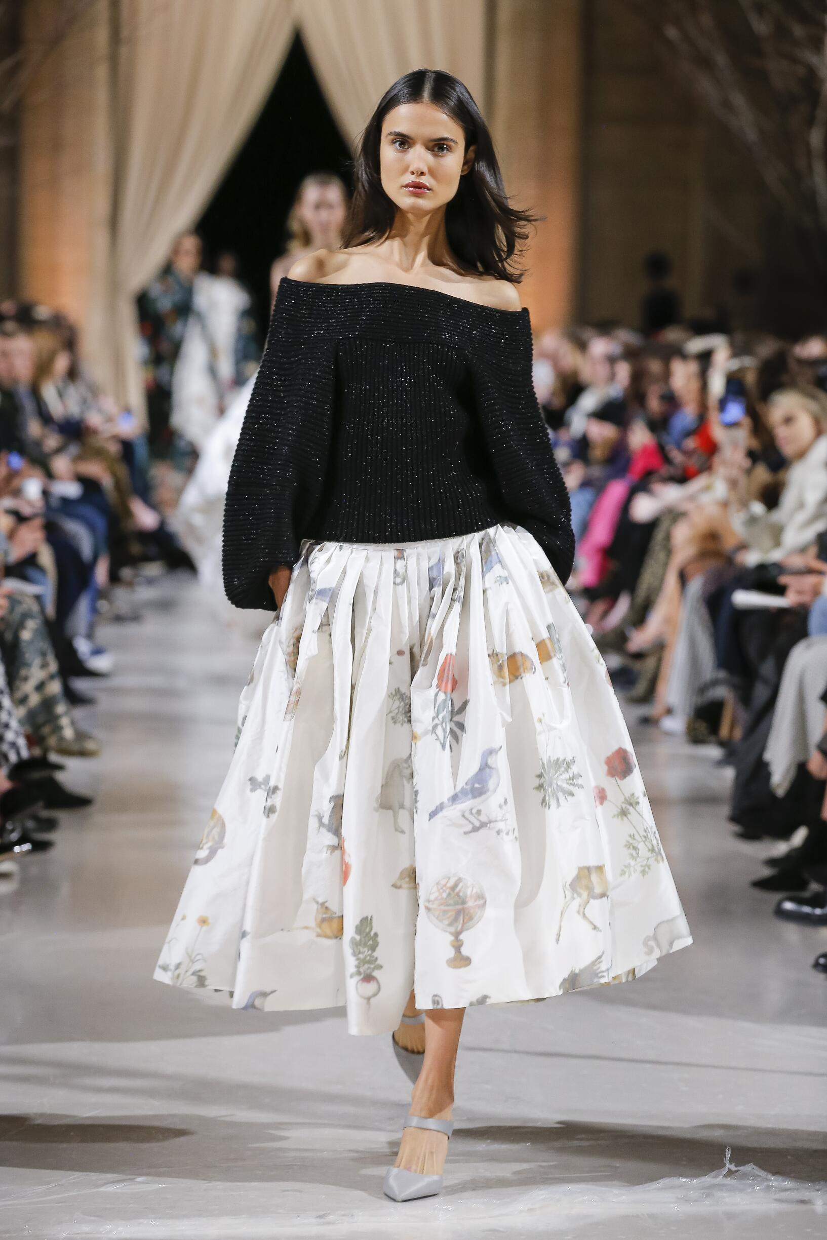 Oscar de la Renta New York Fashion Week Womenswear