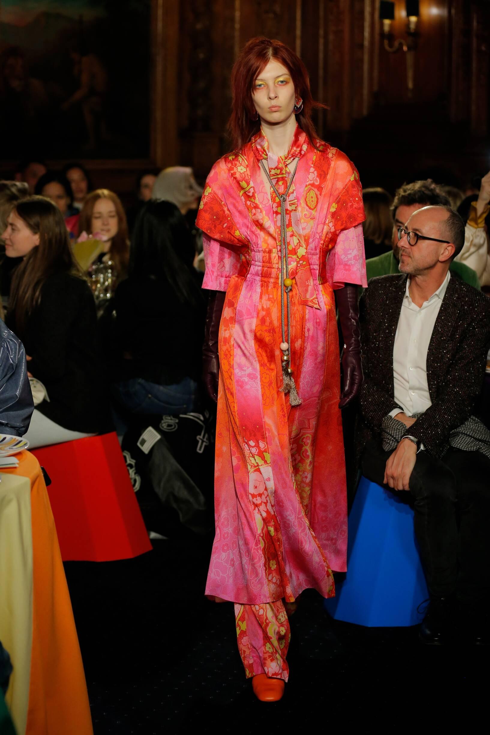 Peter Pilotto Fashion Show FW 2018