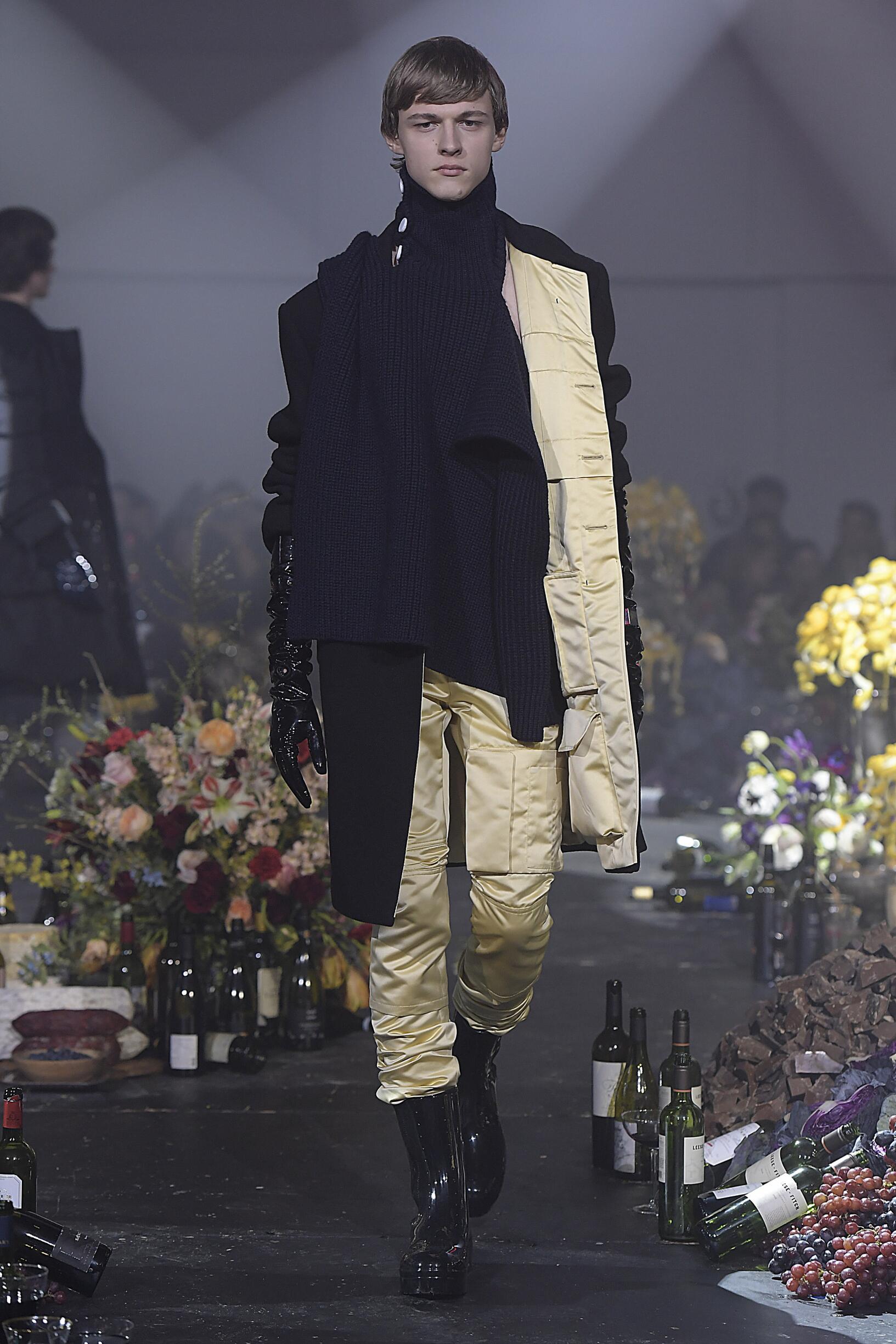 Raf Simons FW 2018 Menswear