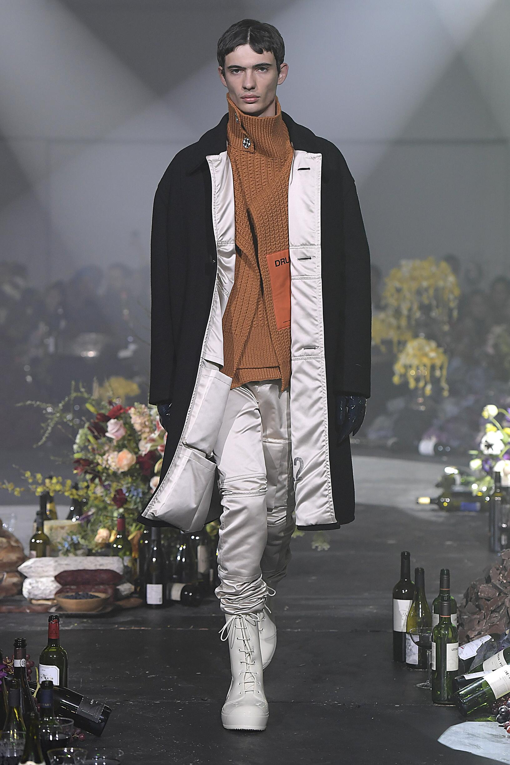Raf Simons Fashion Show