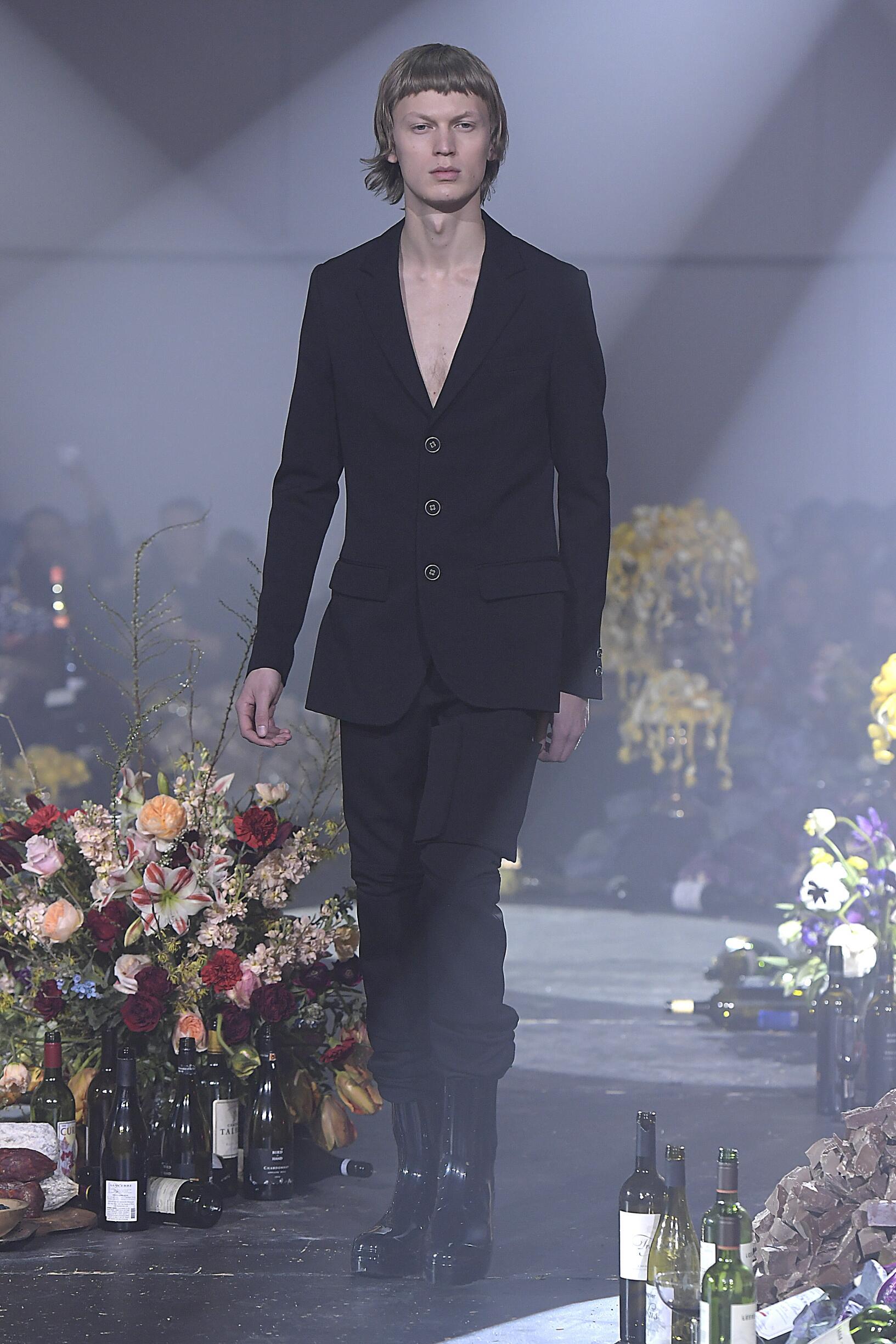 Raf Simons New York Fashion Week Menswear