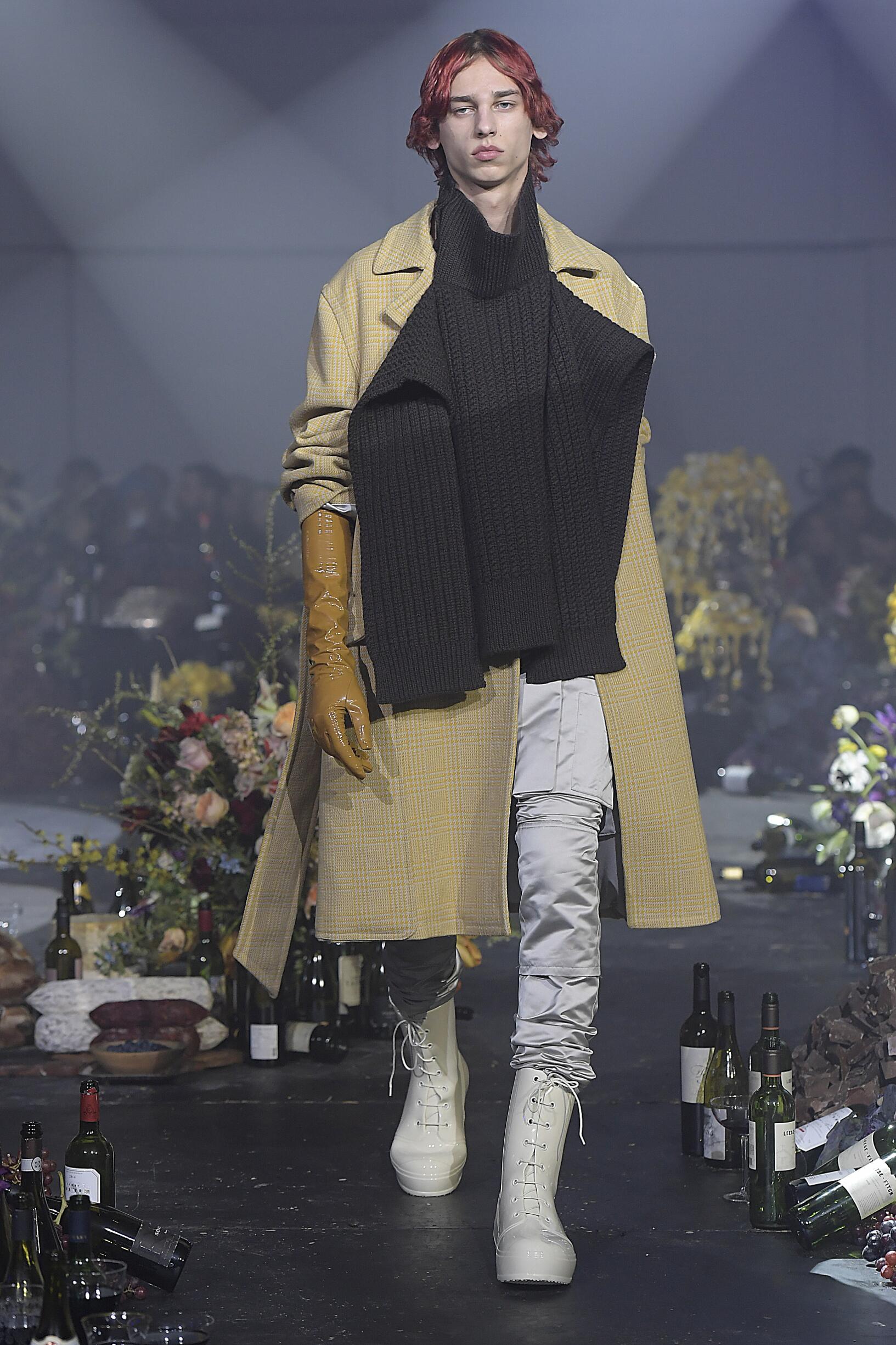 Raf Simons New York Fashion Week