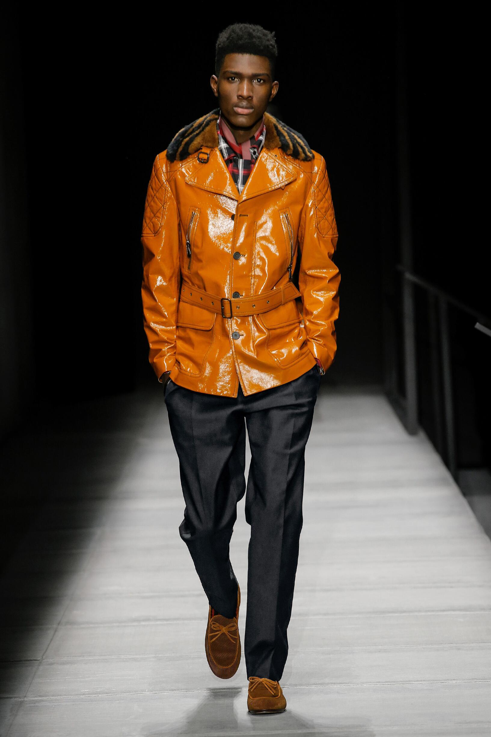 Runway Bottega Veneta Fall Winter 2018 Men's Collection New York Fashion Week