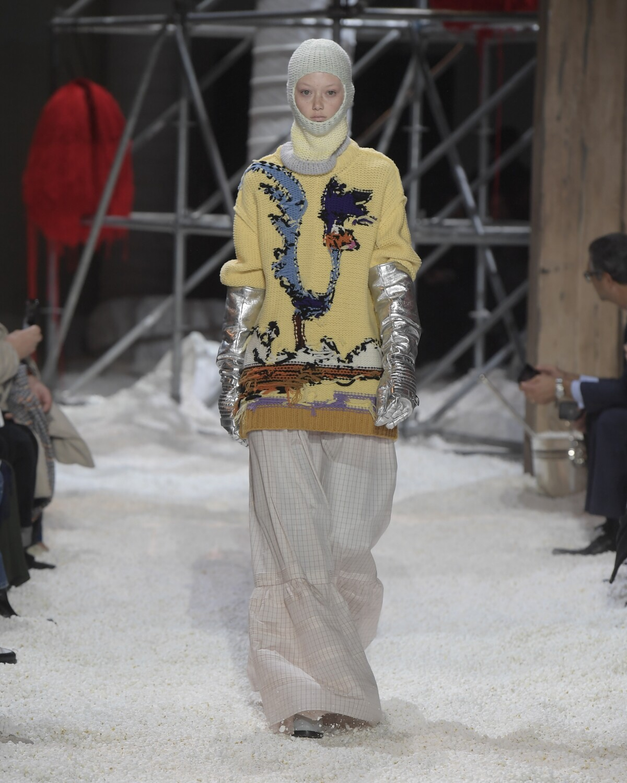 Runway Calvin Klein 205W39NYC Fall Winter 2018 Women's Collection New York Fashion Week