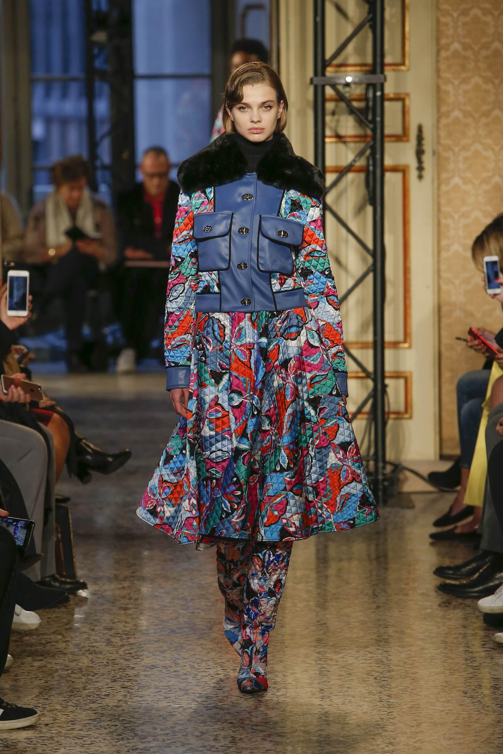 Runway Emilio Pucci Fall Winter 2018 Women's Collection Milan Fashion Week