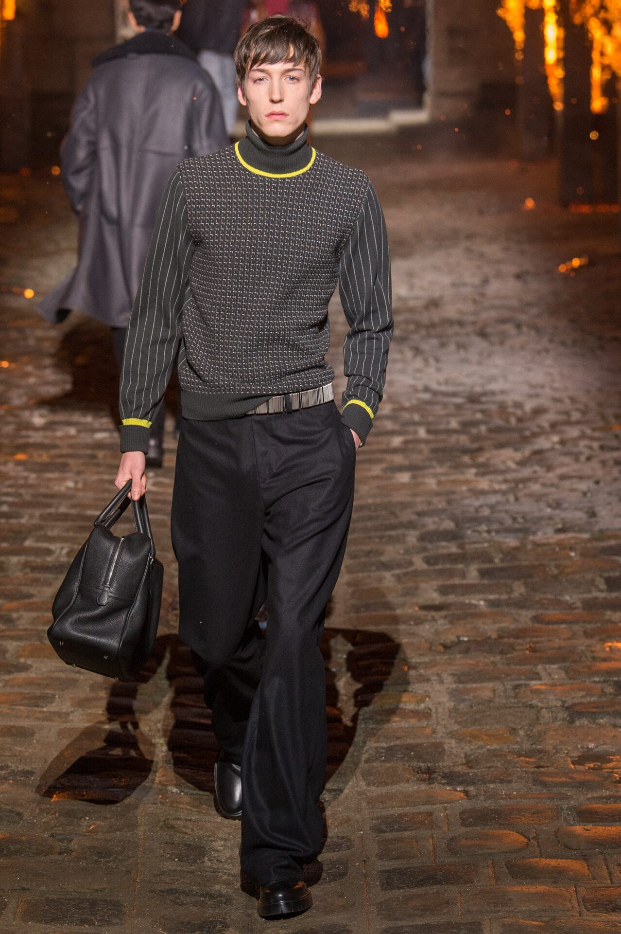 Runway Hermès Fall Winter 2018 Men's Collection Paris Fashion Week