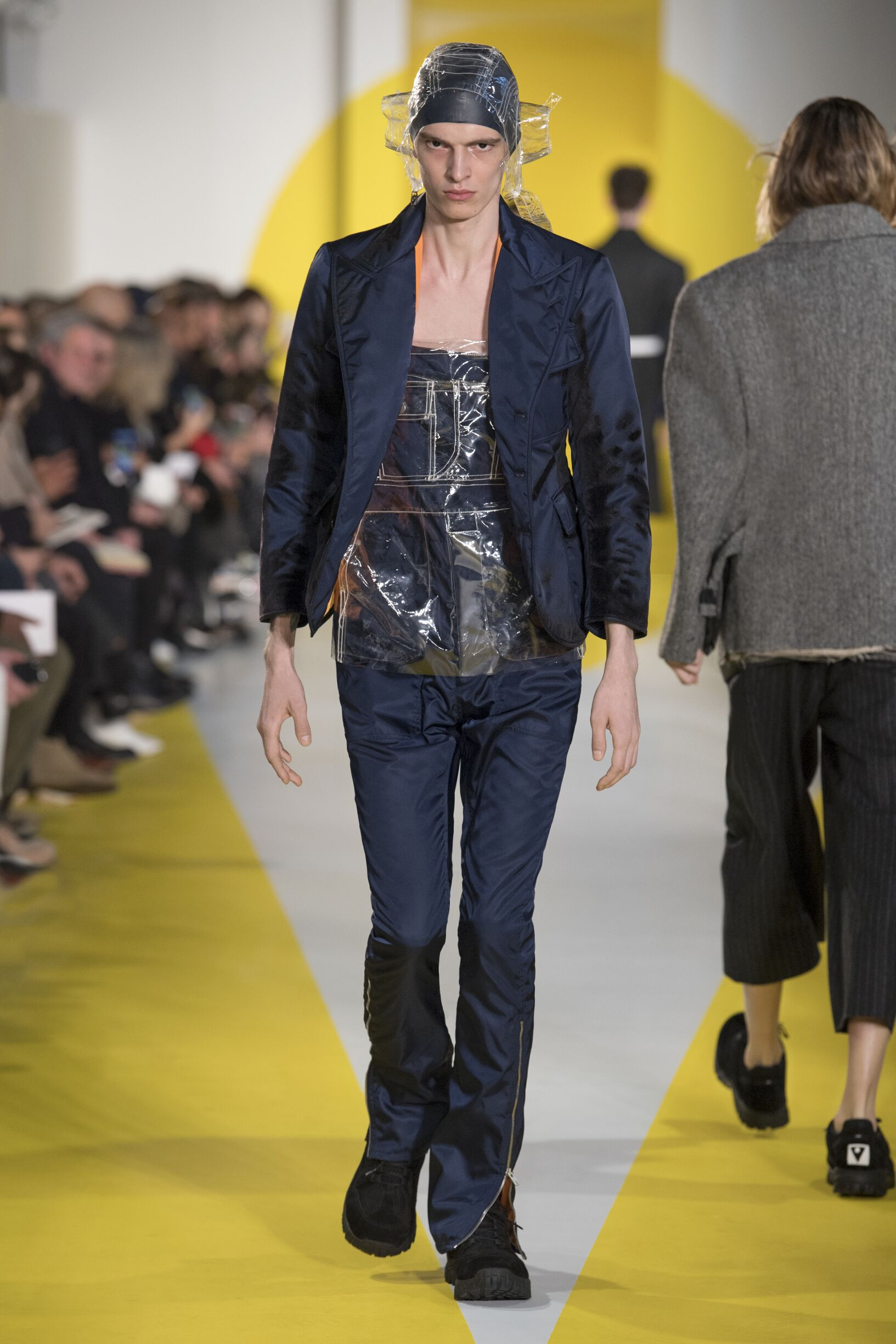 Runway Maison Margiela Fall Winter 2018 Men's Collection Paris Fashion Week