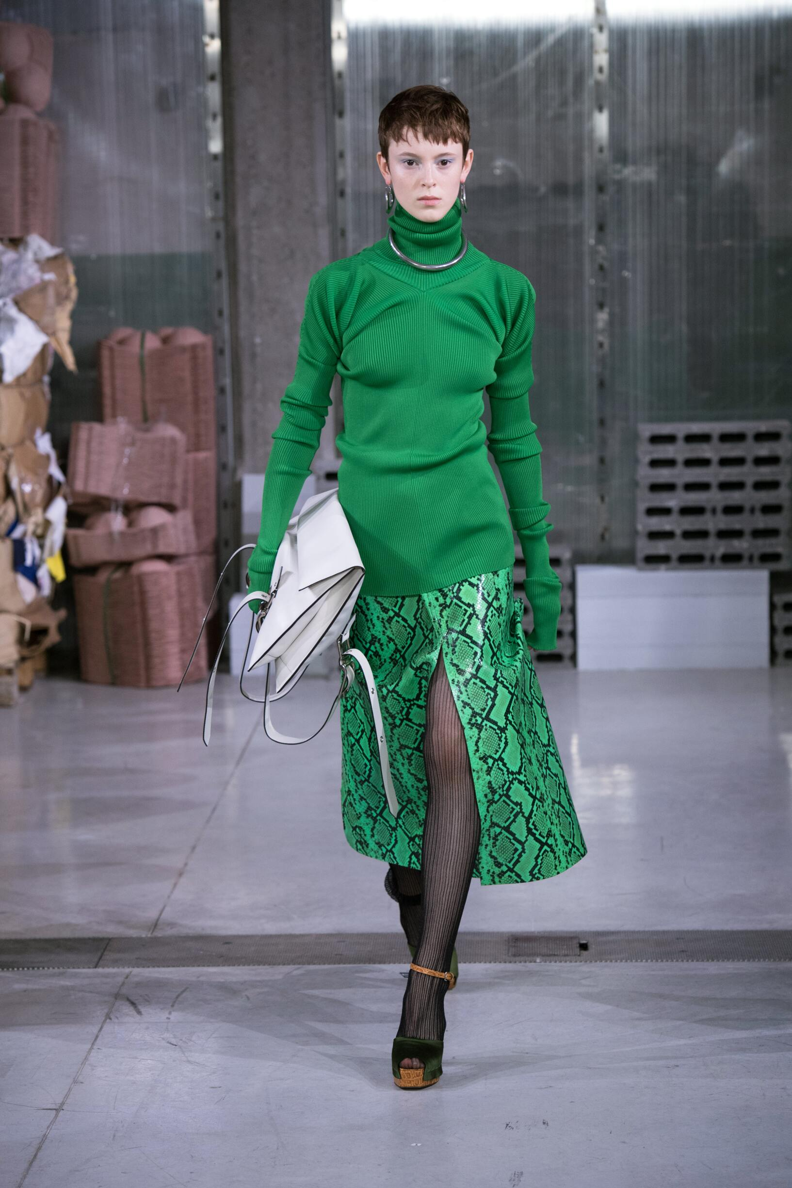Runway Marni Fall Winter 2018 Women's Collection Milan Fashion Week