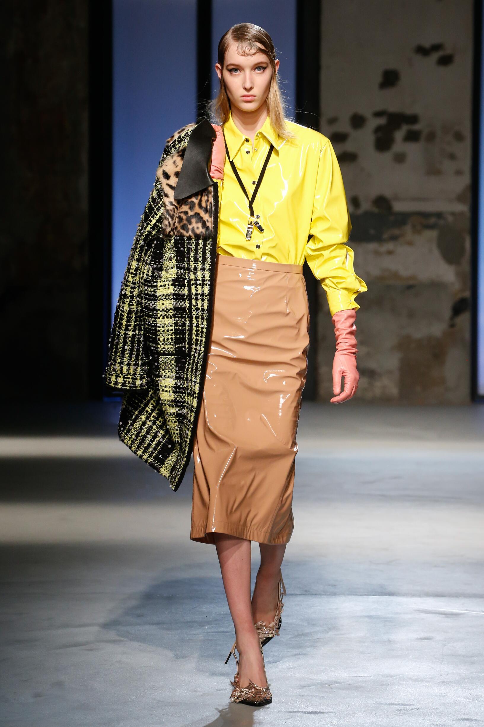 Runway N°21 Fall Winter 2018 Women's Collection Milan Fashion Week