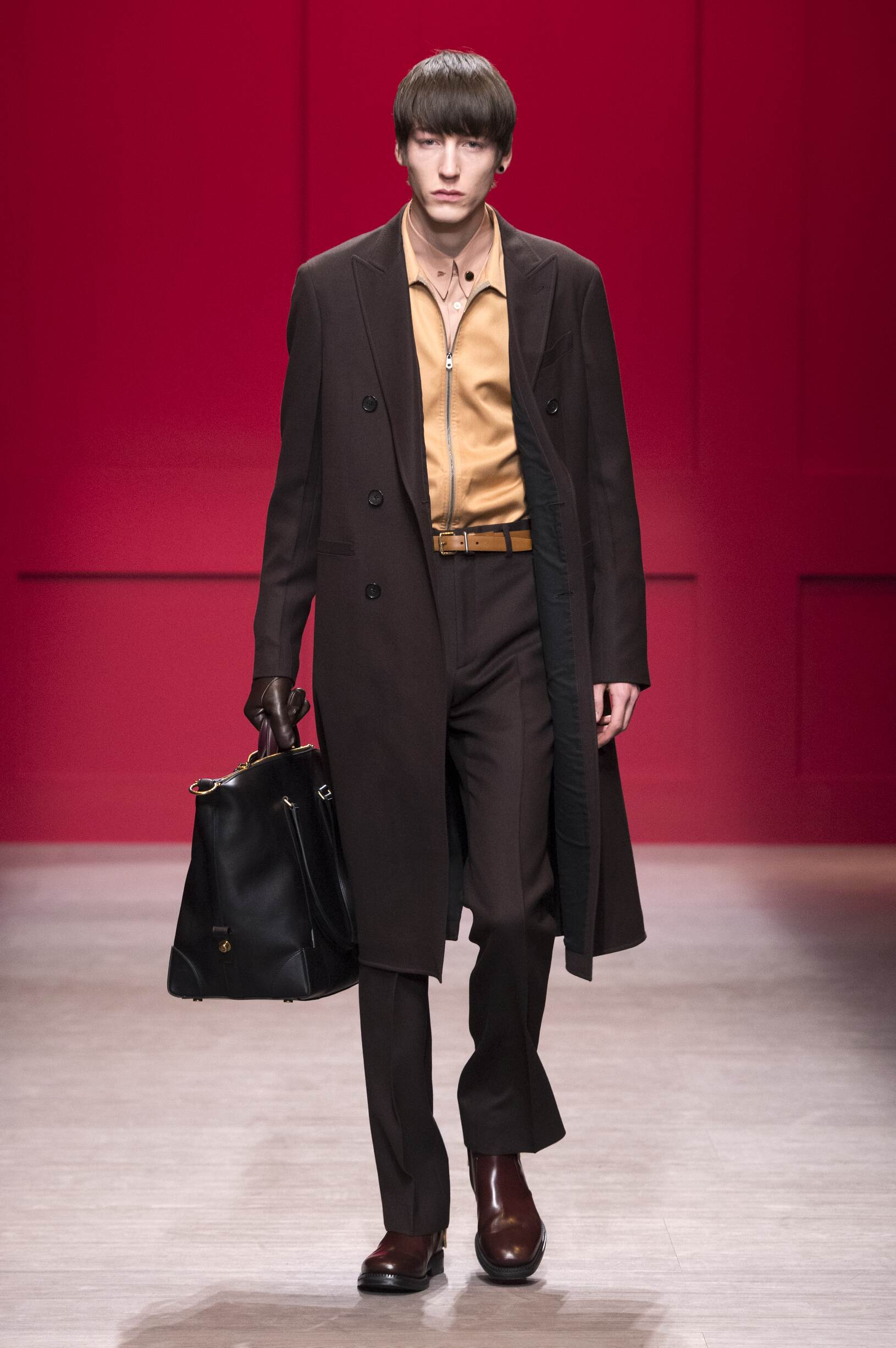 Salvatore Ferragamo Man Fall 2018 Catwalk