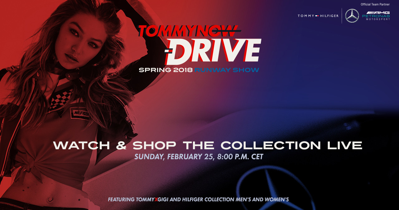 Tommy Now Spring 2018 Fashion Show Live Streaming