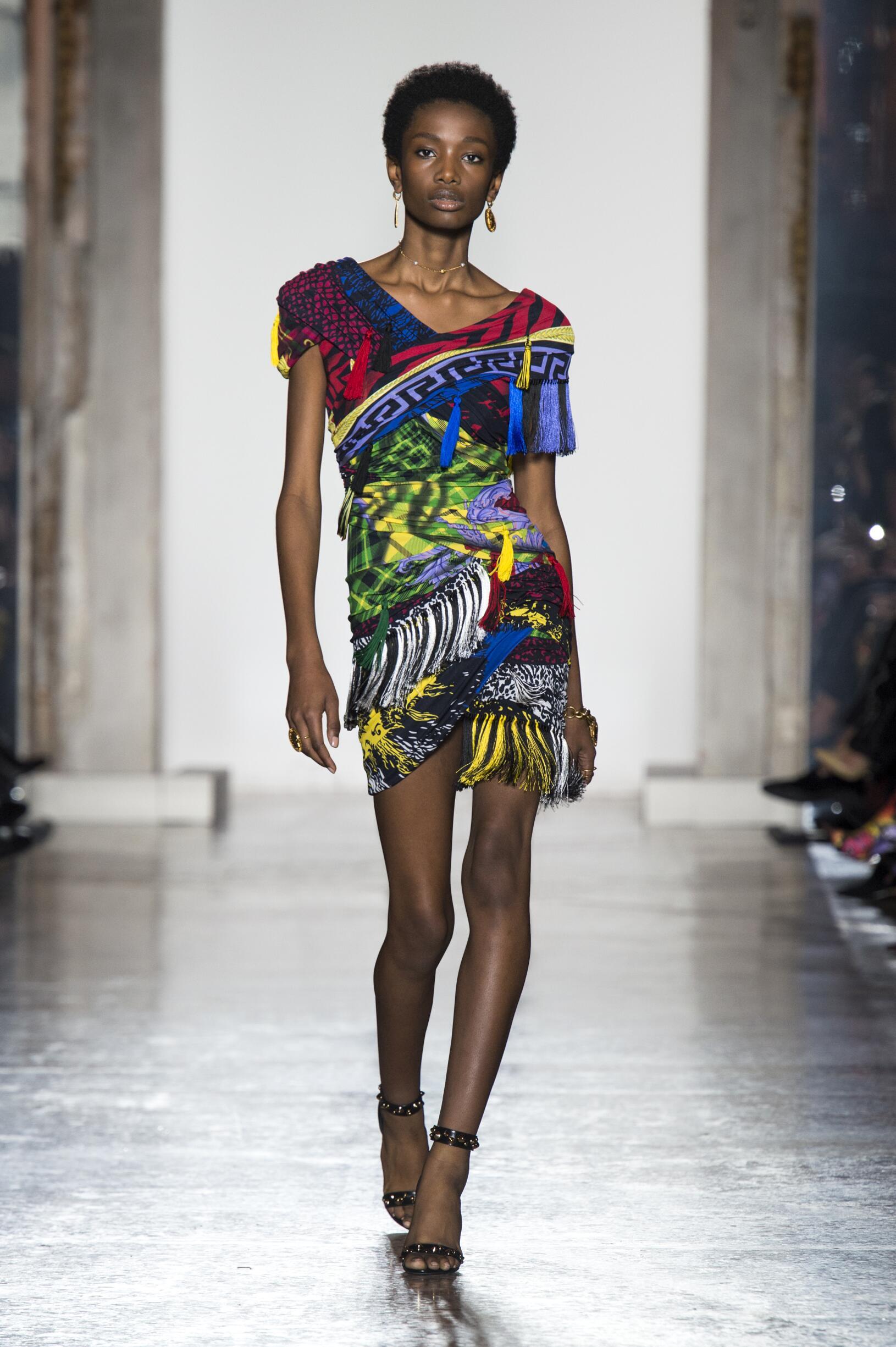 Versace Milan Fashion Week Womenswear