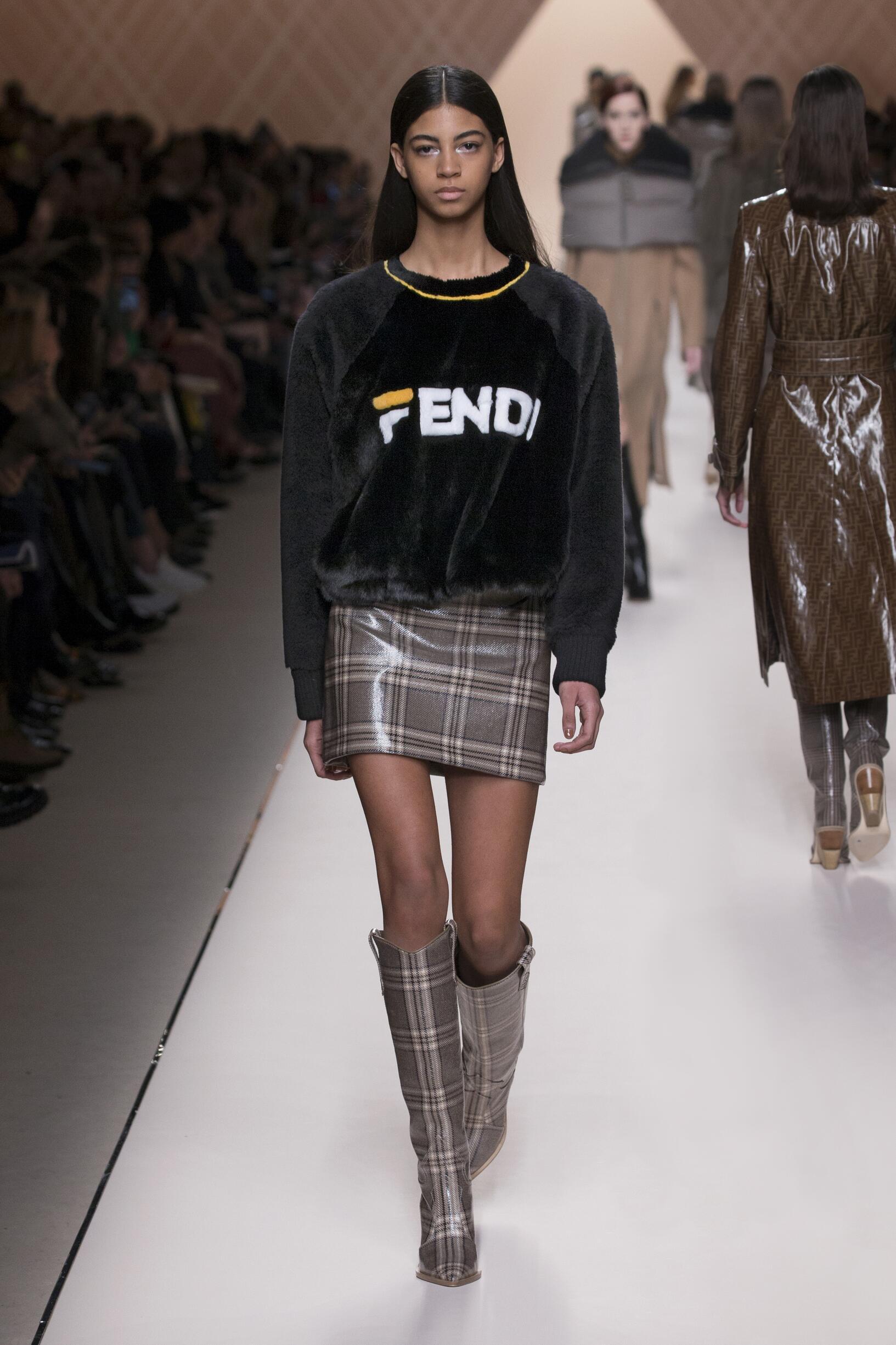 Winter 2018 Fashion Trends Fendi