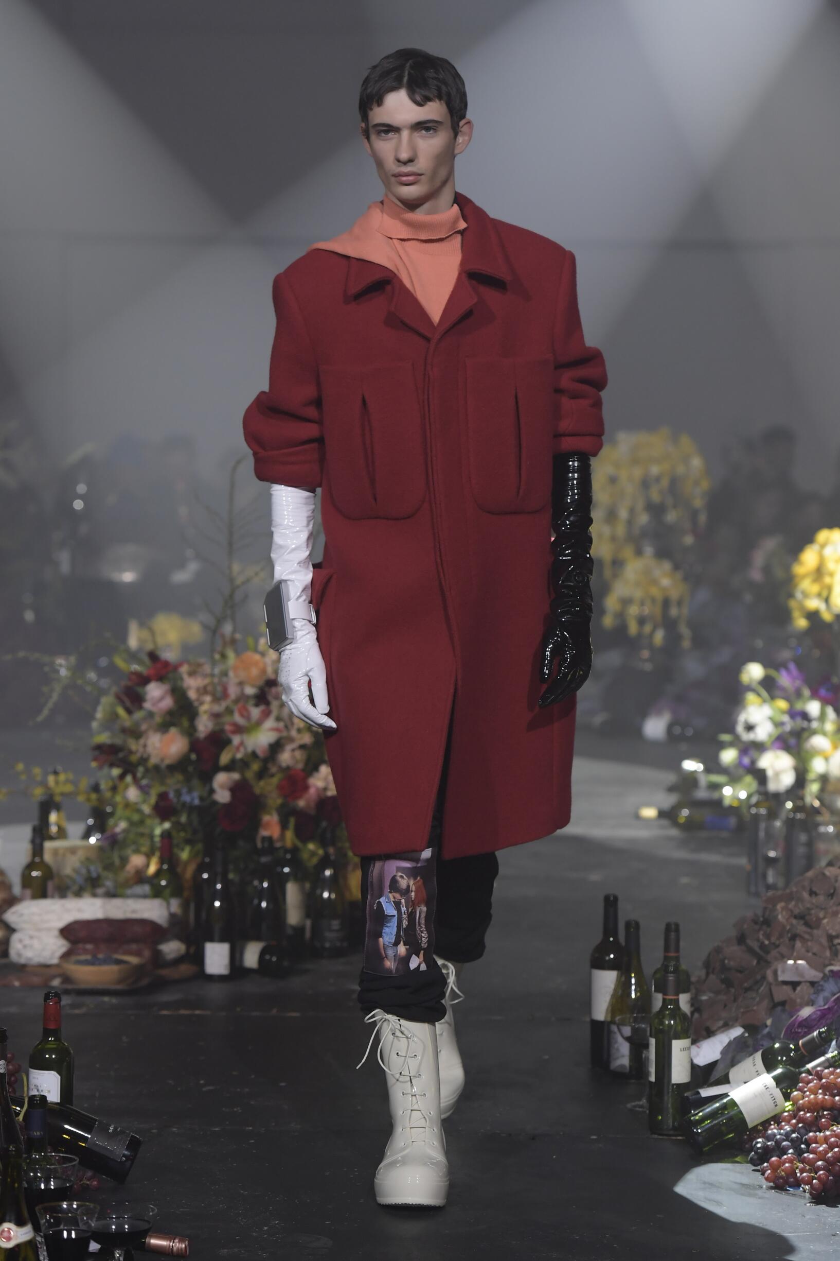 Winter 2018 Fashion Trends Raf Simons