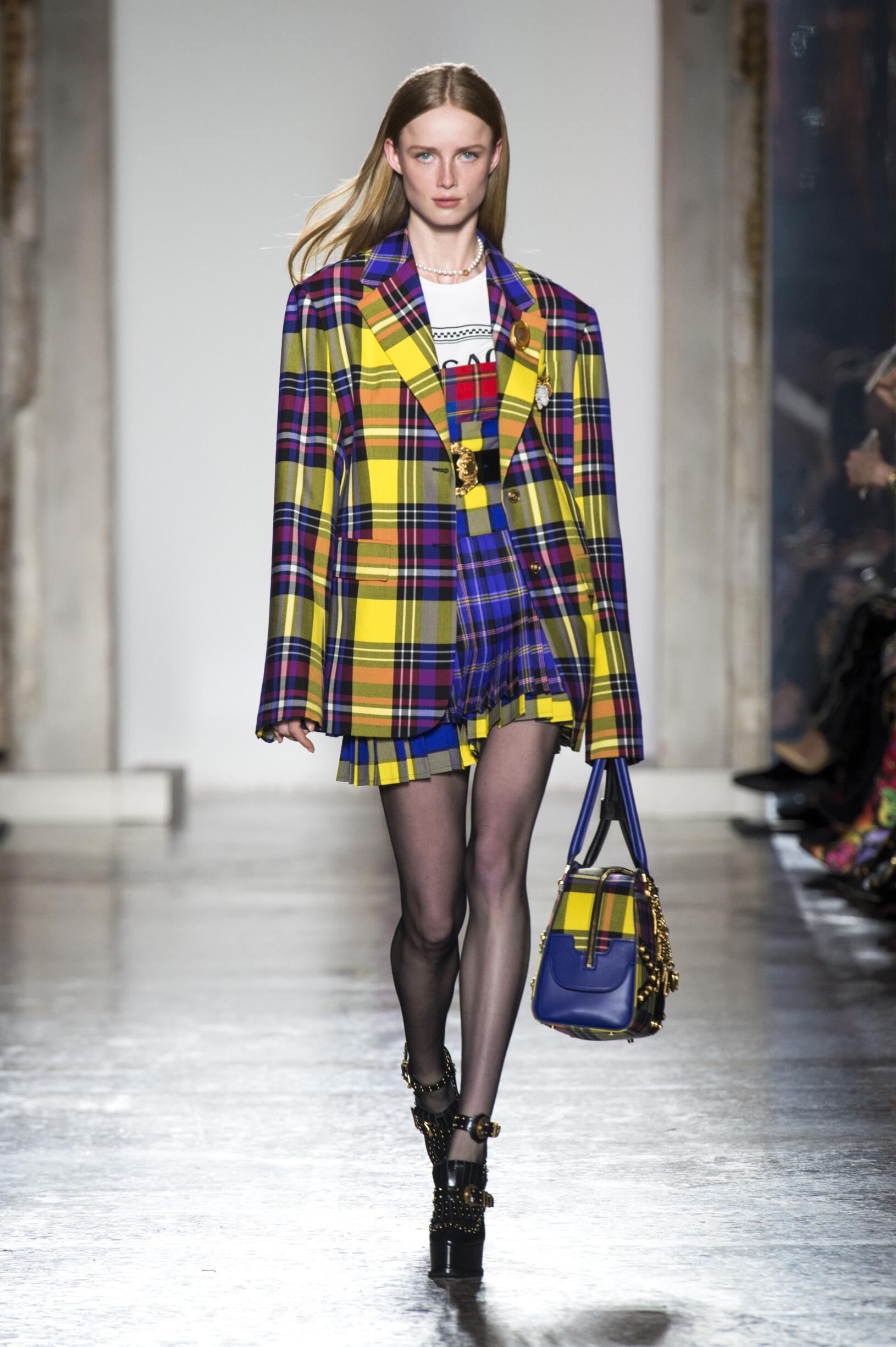 Winter 2018 Fashion Trends Versace