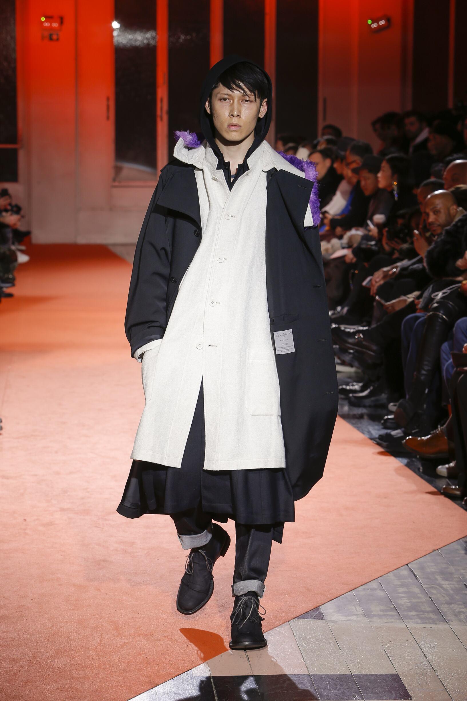 Winter 2018 Fashion Trends Yohji Yamamoto